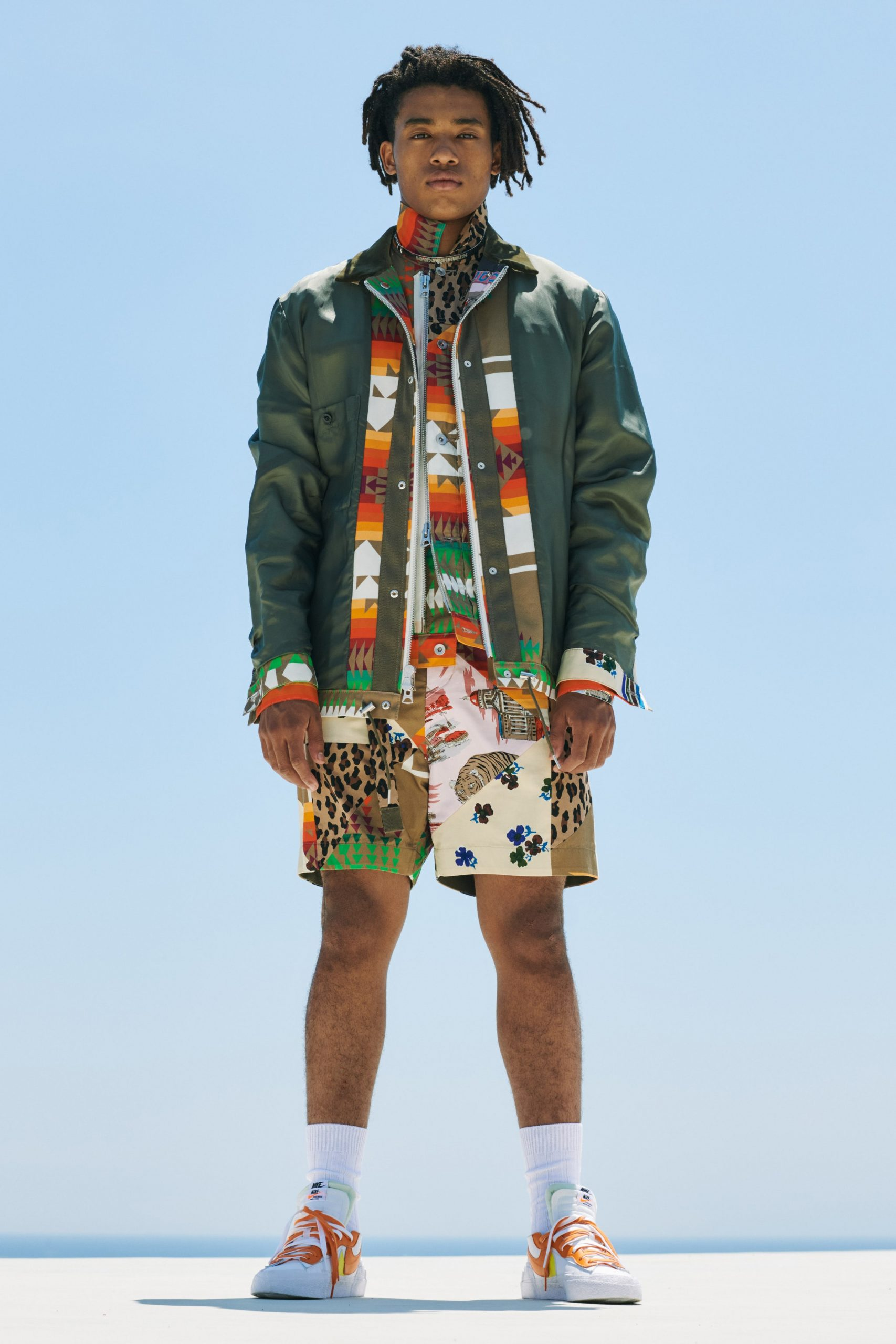Sacai Spring 2021 Men's Fashion Show Review