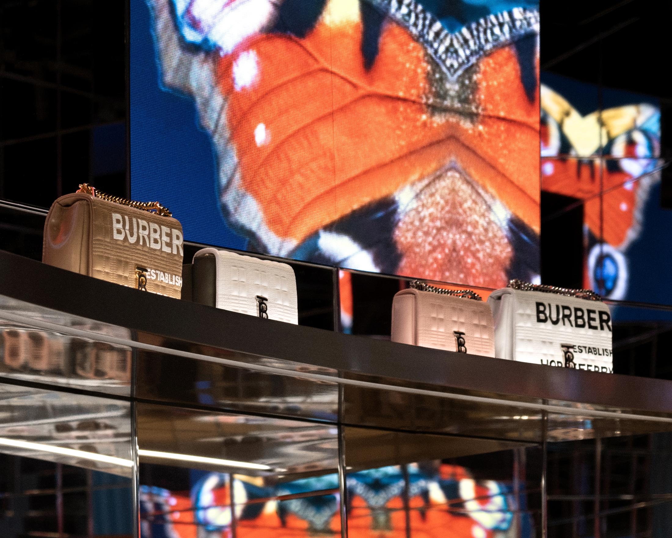 Burberry Store Photos