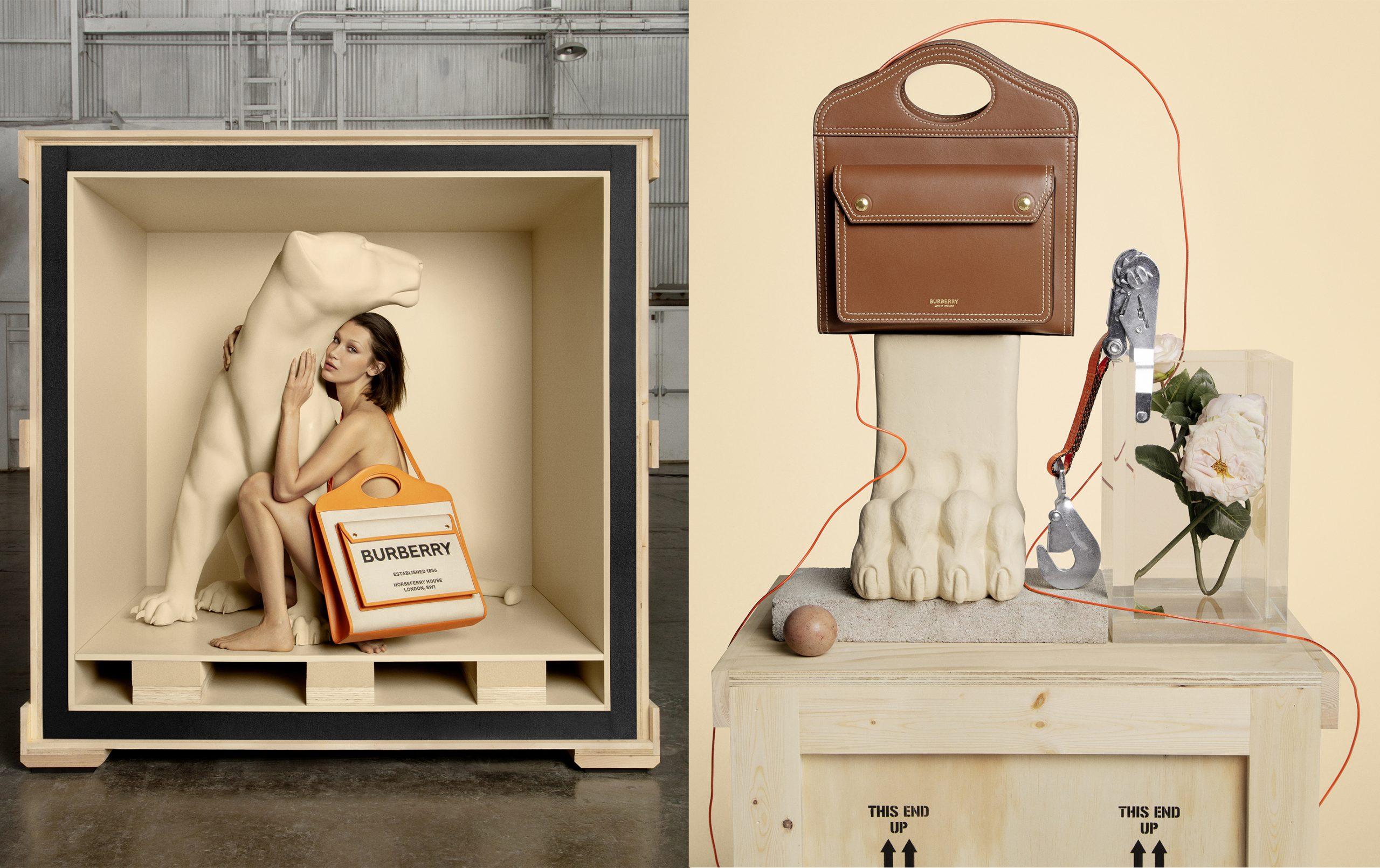 Burberry Pocket Bag Fall 2020 Ad Campaign Film & Photos
