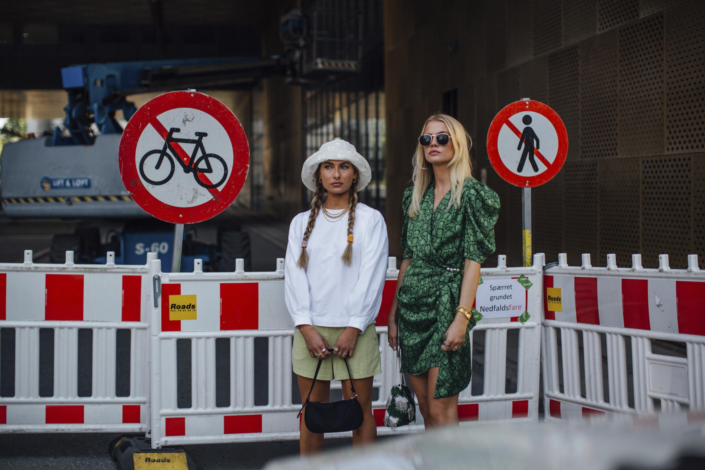 Copenhagen Fashion Week Spring 2021 Street Style Photos