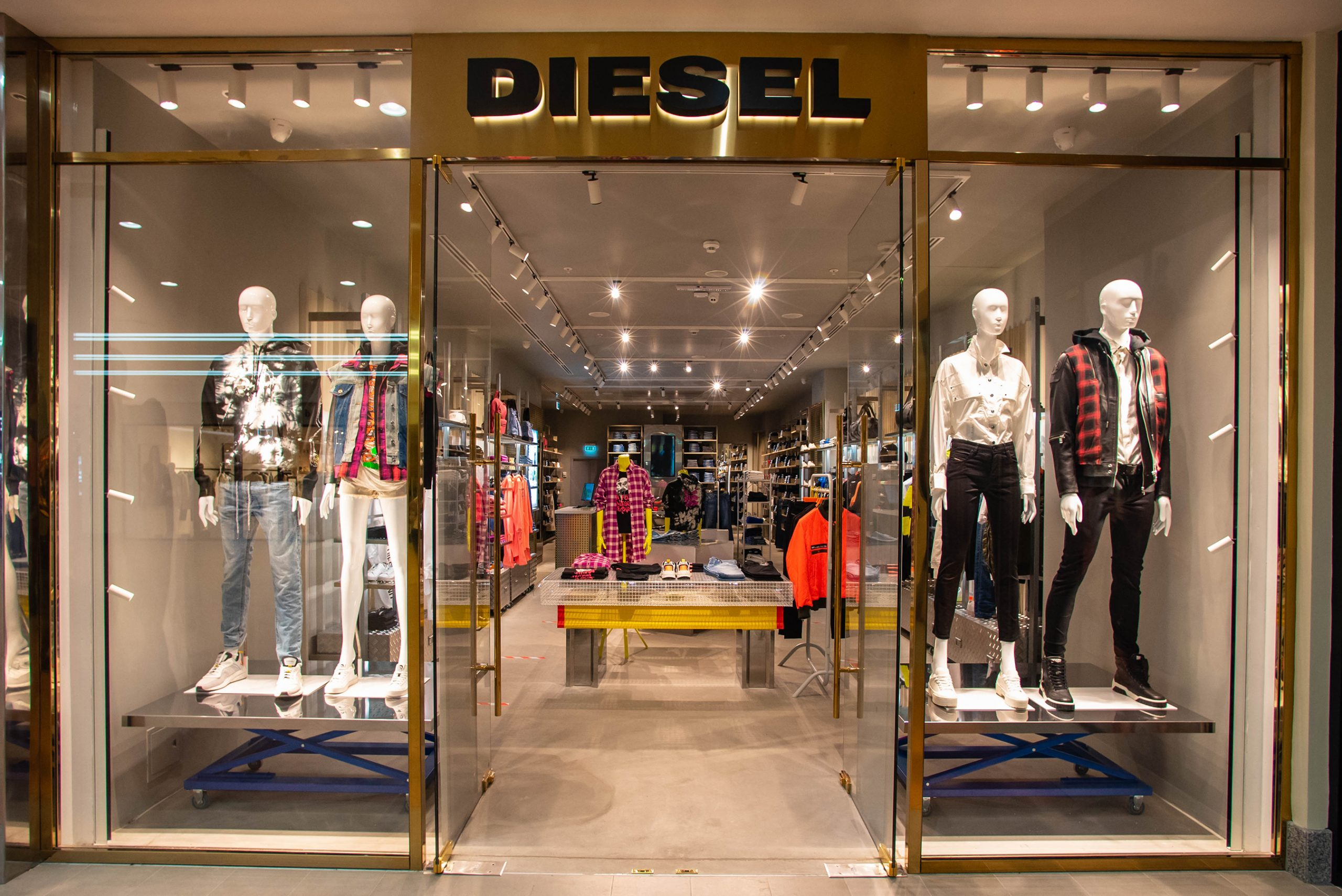 Diesel store Moscow