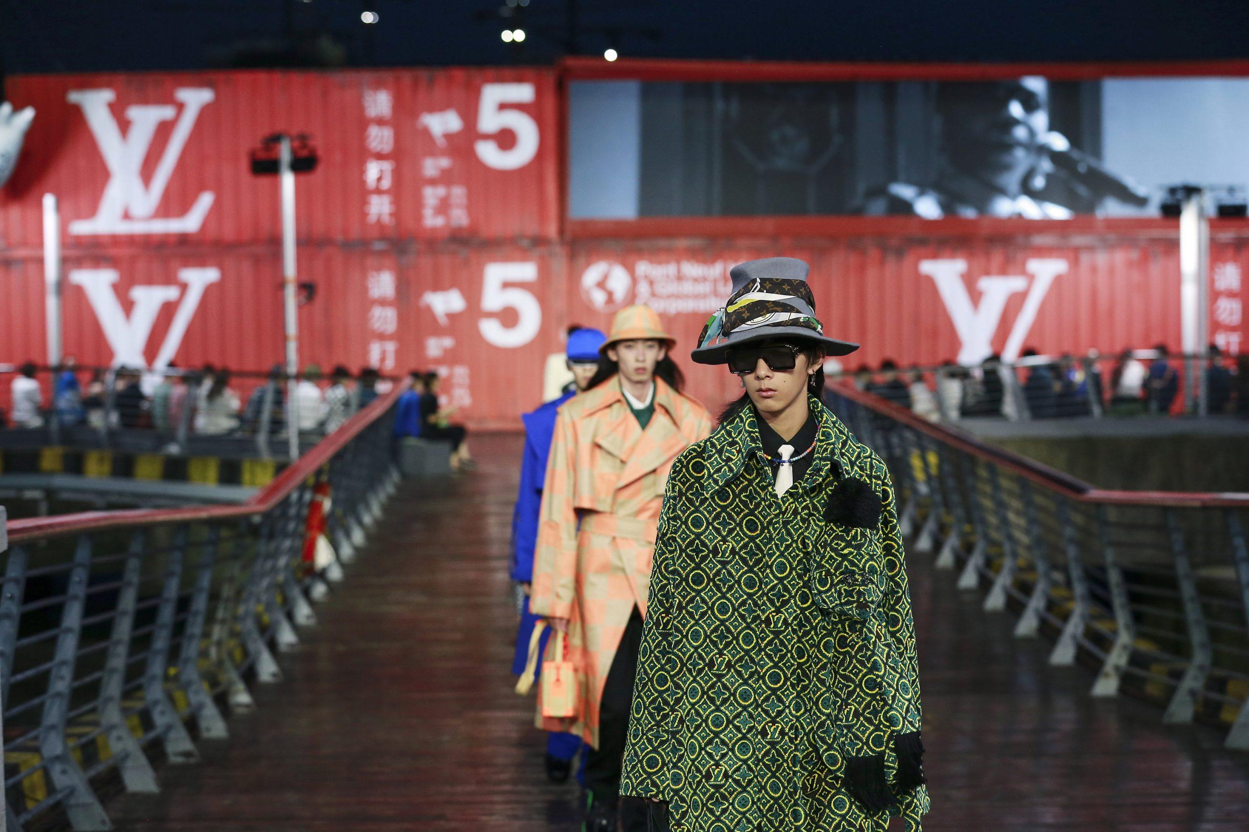 Louis Vuitton Men's Spring 2021 Fashion Show Atmosphere