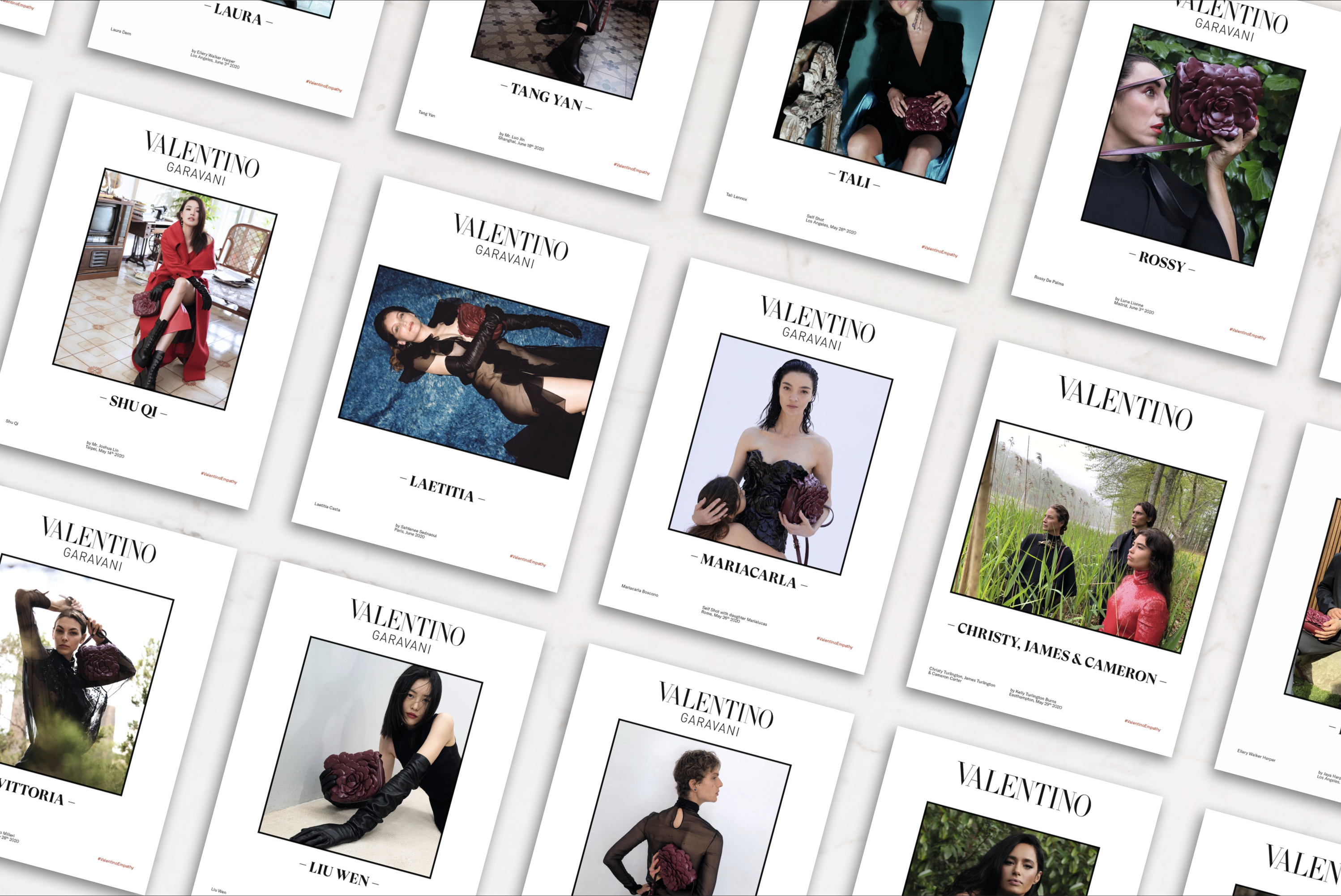 Valentino Empathy Fall 2020 Ad Campaign Photos
