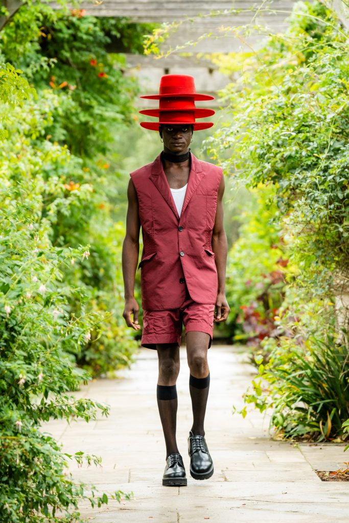 Review of Day 1 of London spring 2021 fashion shows