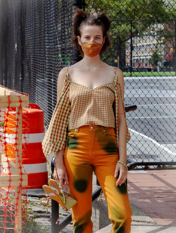 Eckhaus Latta Spring 2021 Fashion Show Backstage Photos