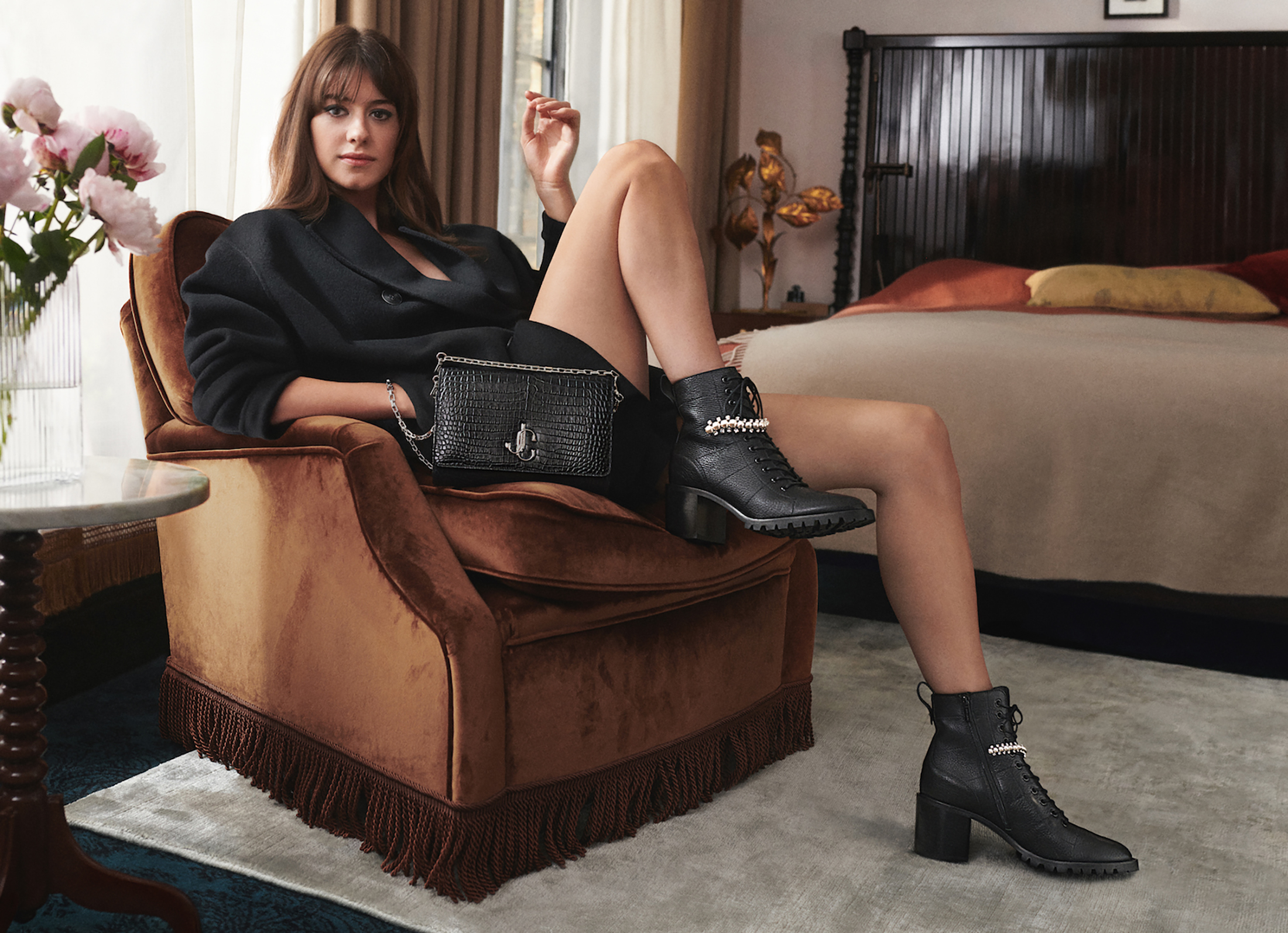 Jimmy Choo Fall 2020 Fashion Collection Photos