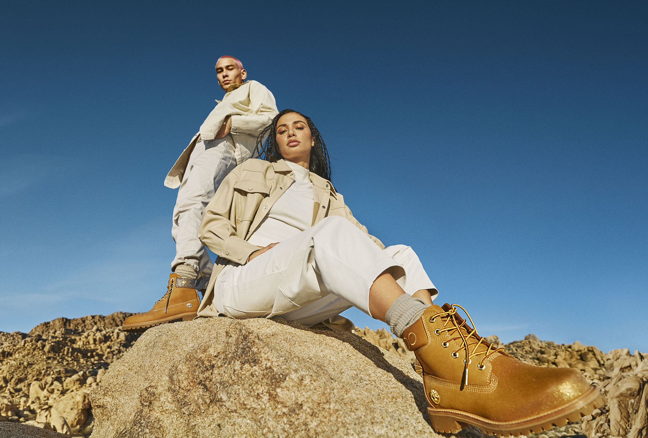 Jimmy Choo Teams With Timberland For Latest Collaboration