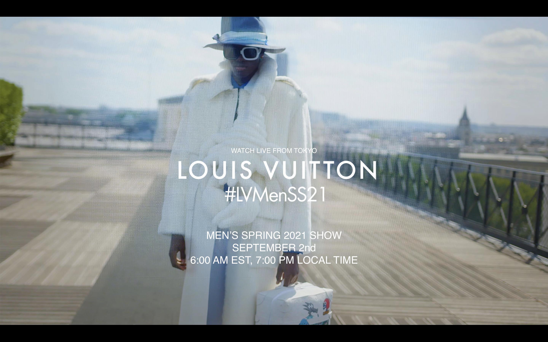 Watch Louis Vuitton Men's Spring 2021 Fashion Show Live from Tokyo
