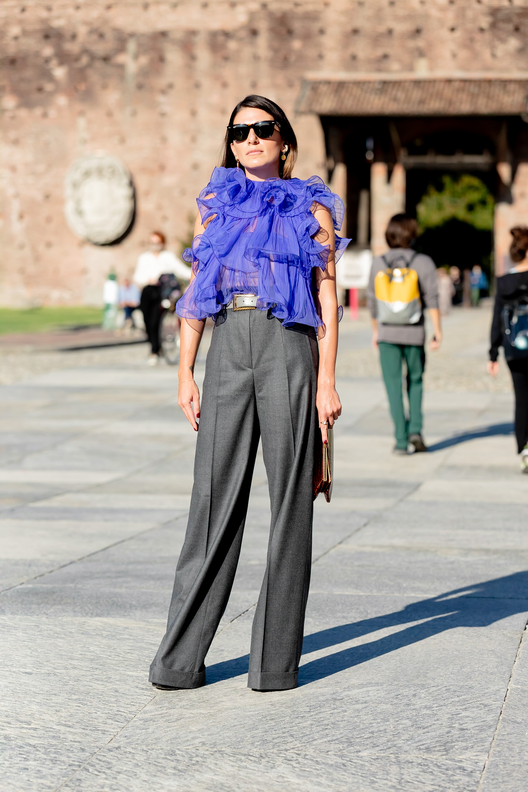 Milan Spring 2021 Day 1 Street Style by Nick Leuze Photos