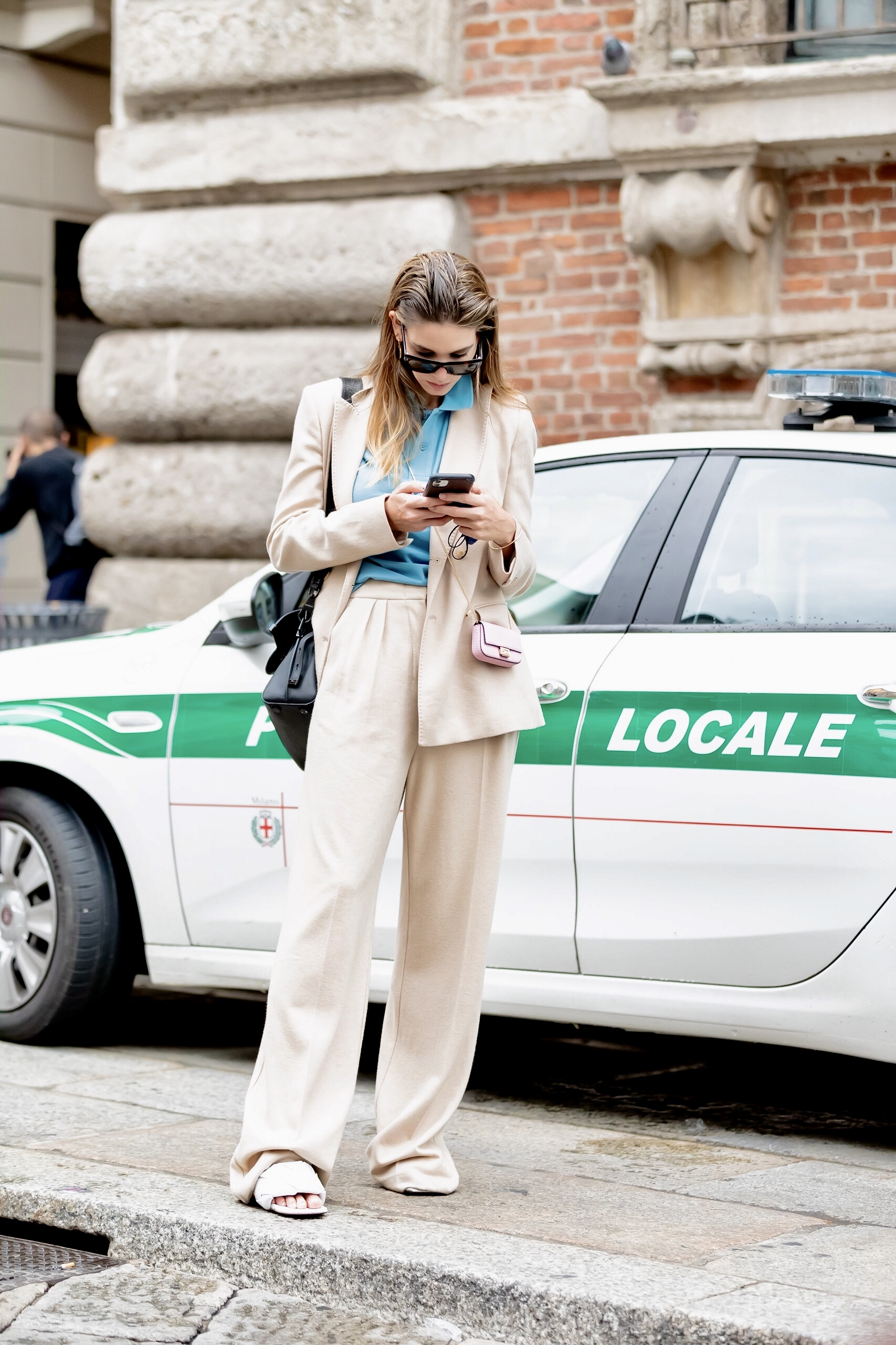 Milan Spring 2021 Day 2 Street Style by Nick Leuze Photos