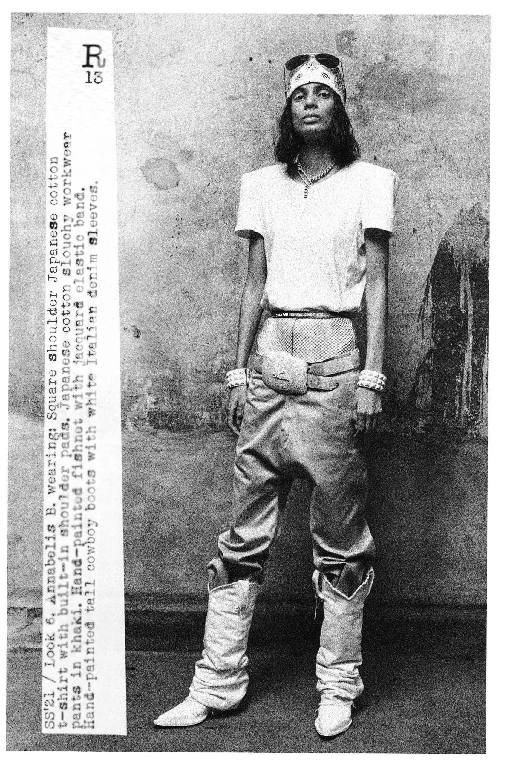 R13 Spring 2021 Fashion Collection Photos
