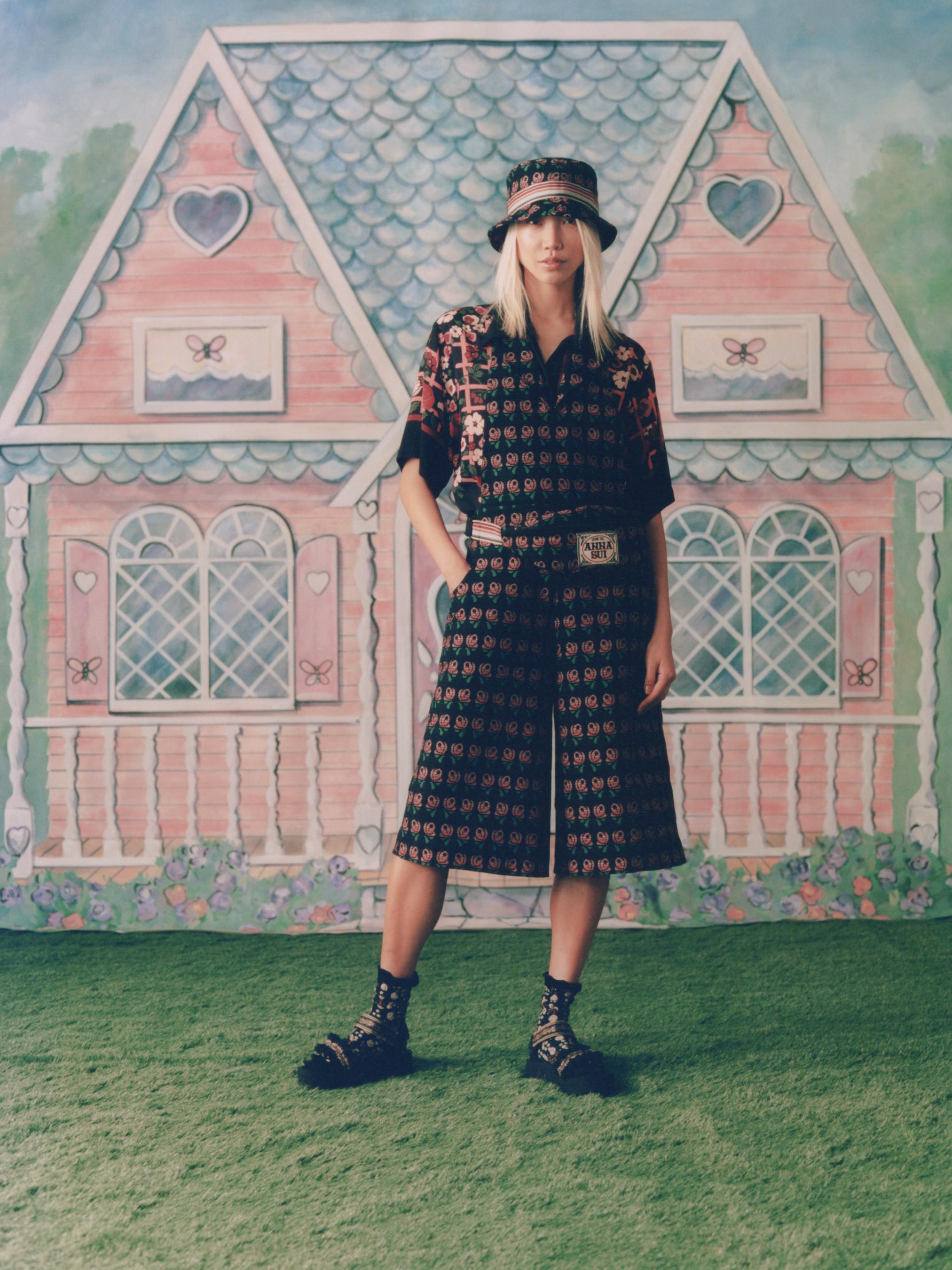 Anna Sui Spring 2021 Fashion Show Photos