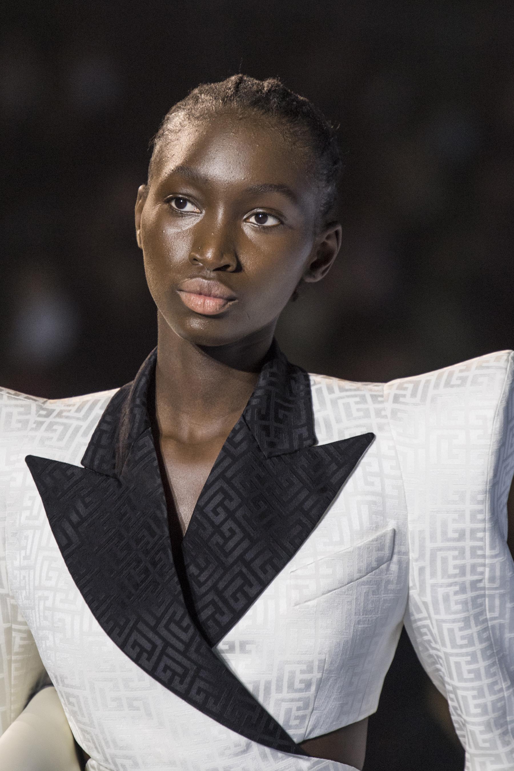 Balmain Spring 2021 Fashion Show Photos
