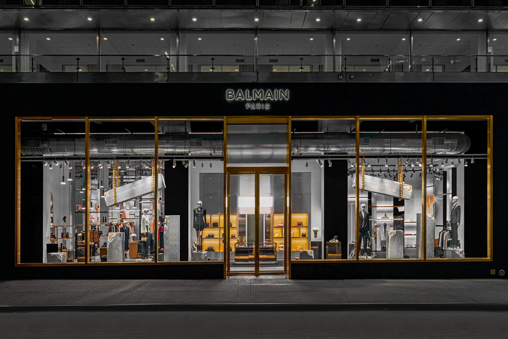 Balmain New York Store