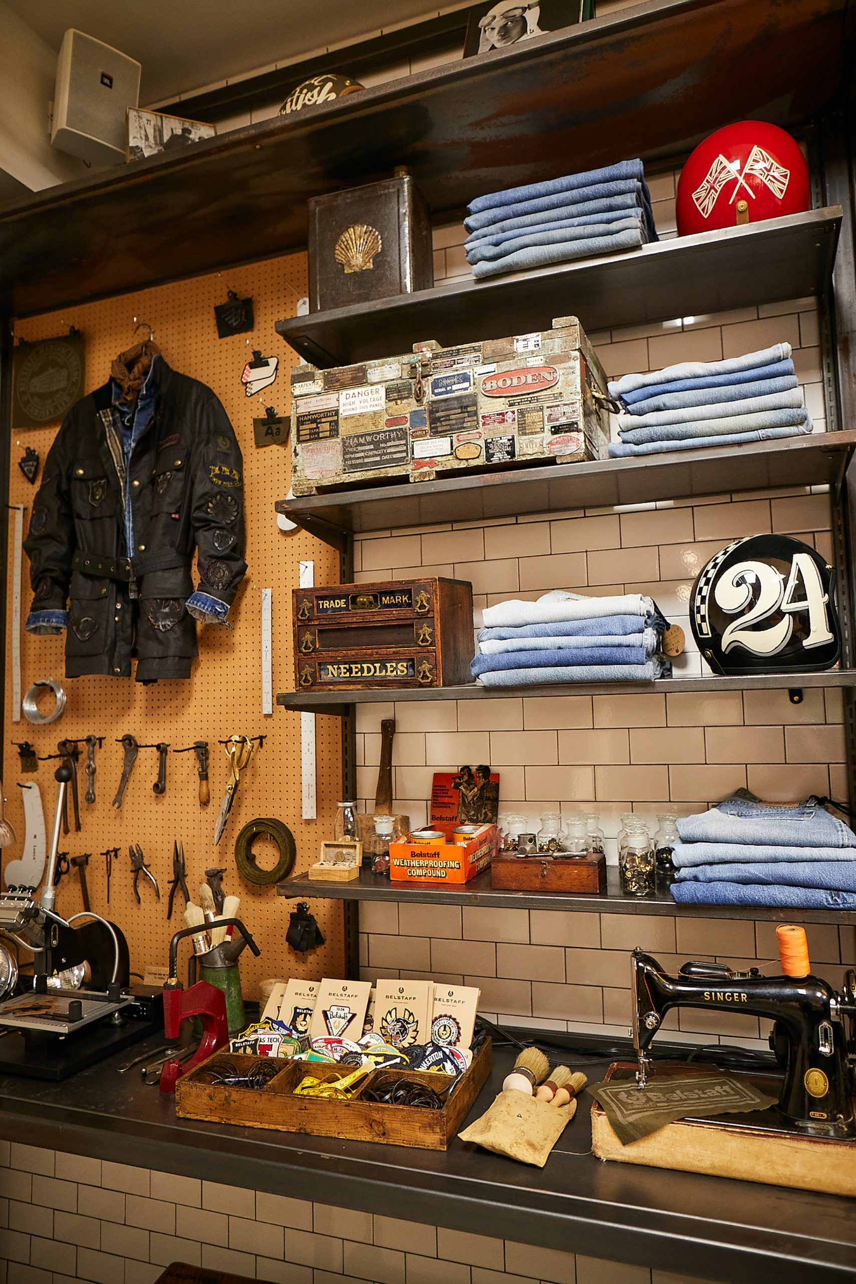 Belstaff NYC Store Photos