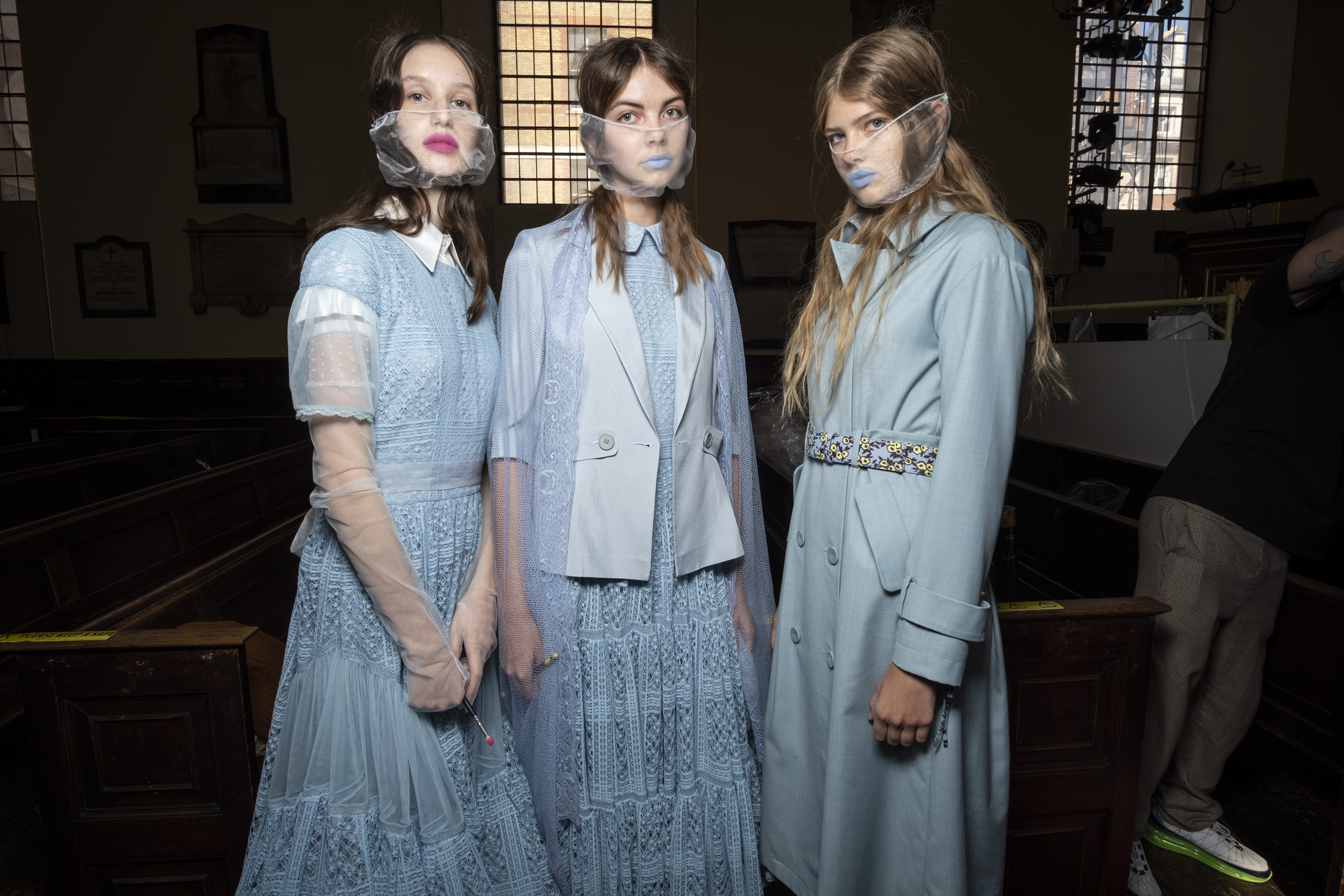 Bora Aksu Spring 2021 Fashion Show Photos