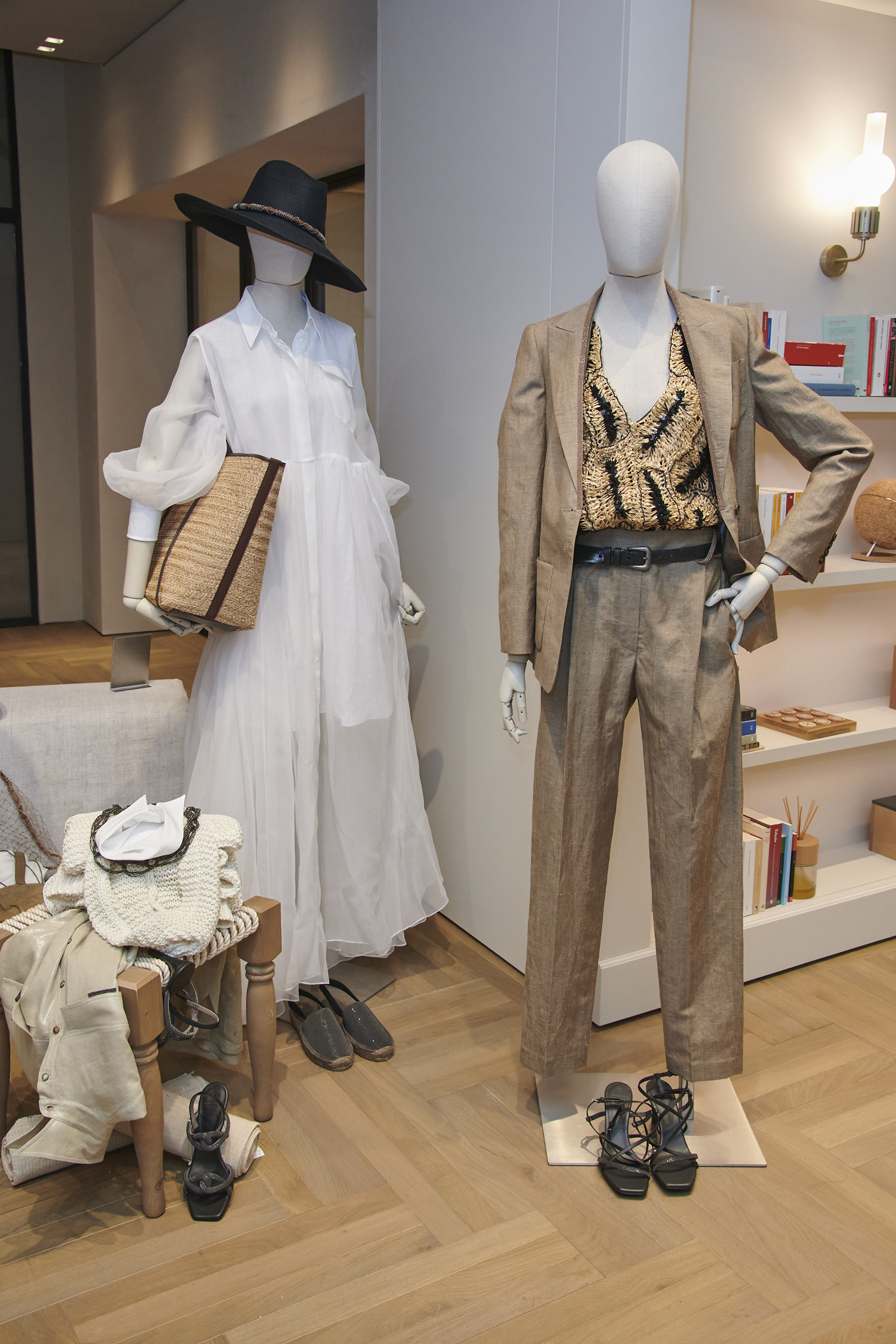 Brunello Cucinelli Spring 2021 Fashion Show Photos