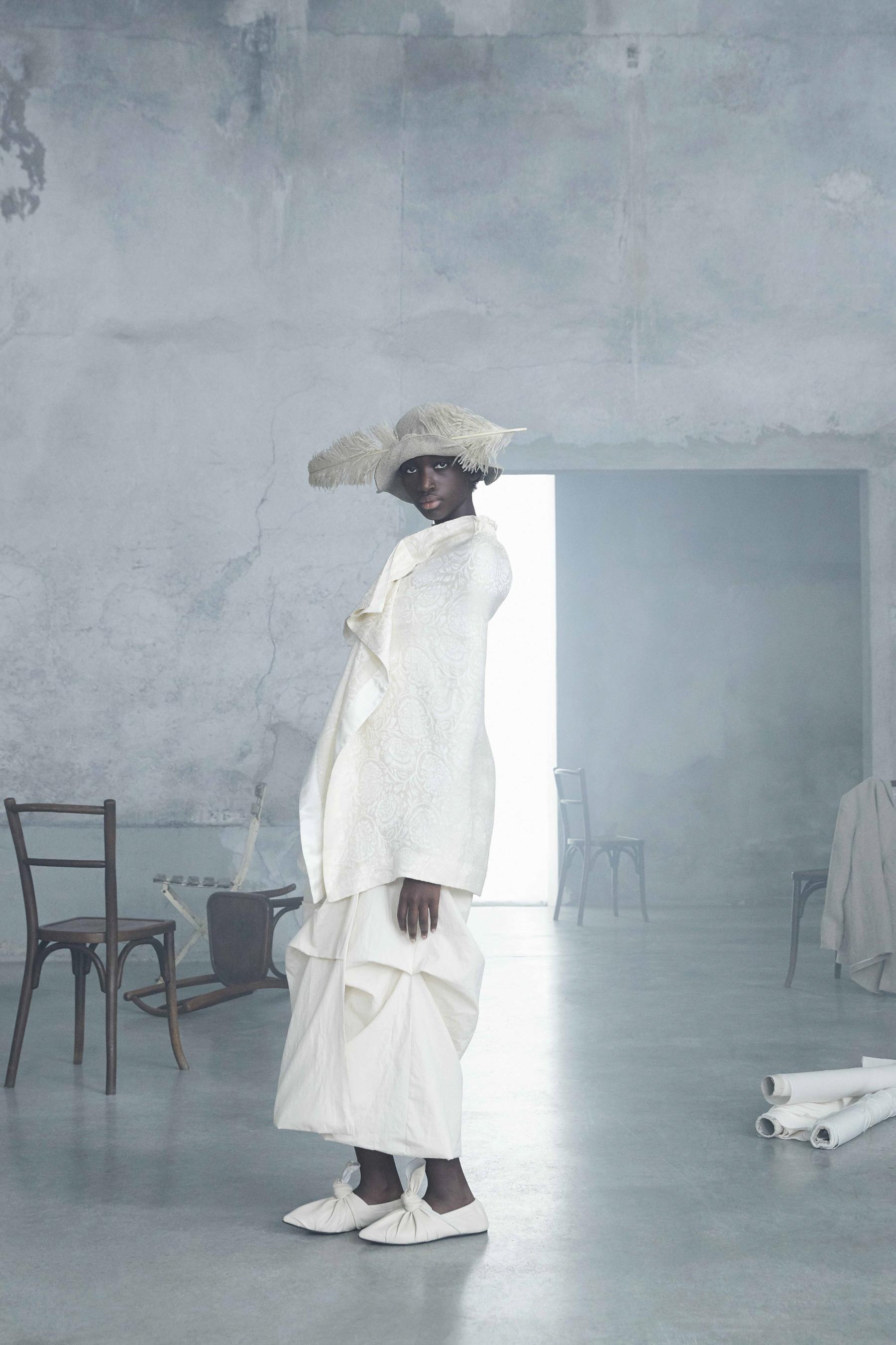 Calcaterra Spring 2021 Fashion Show Photos