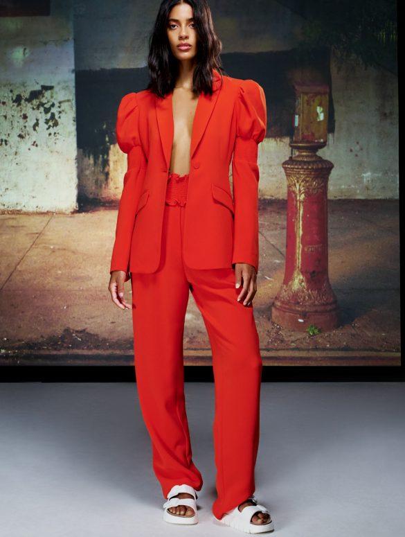 Cinq A Sept Spring 2021 Fashion Show Photos