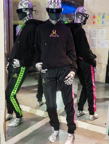 Cyberdog X Kappa Spring 2021 Fashion Show