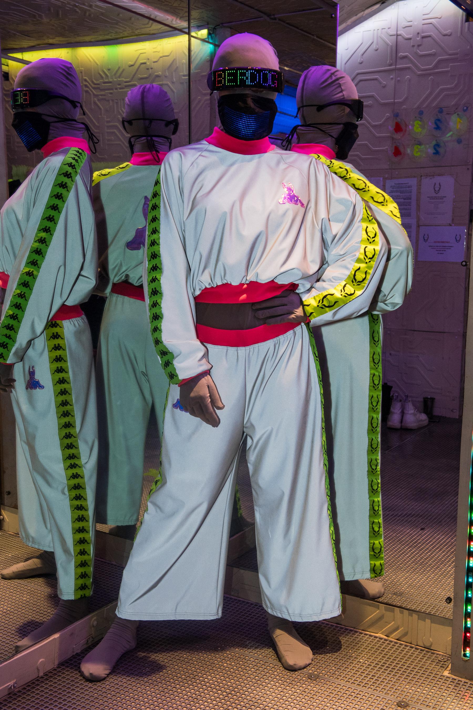 Cyberdog X Kappa Spring 2021 Fashion Show Photos