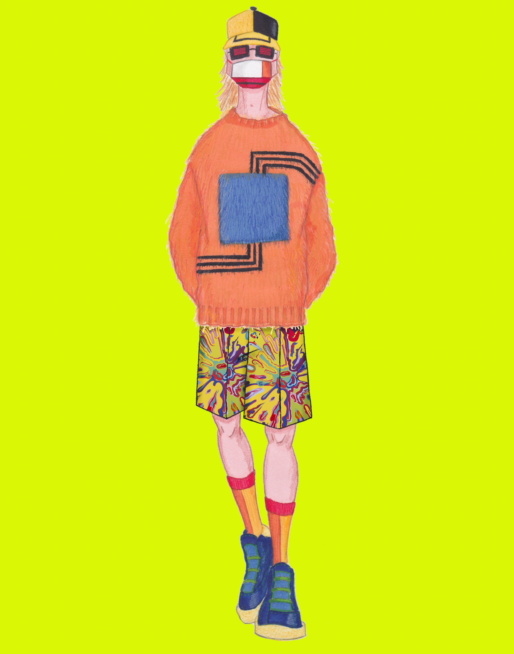 David Hart Spring 2021 Fashion Show Photos