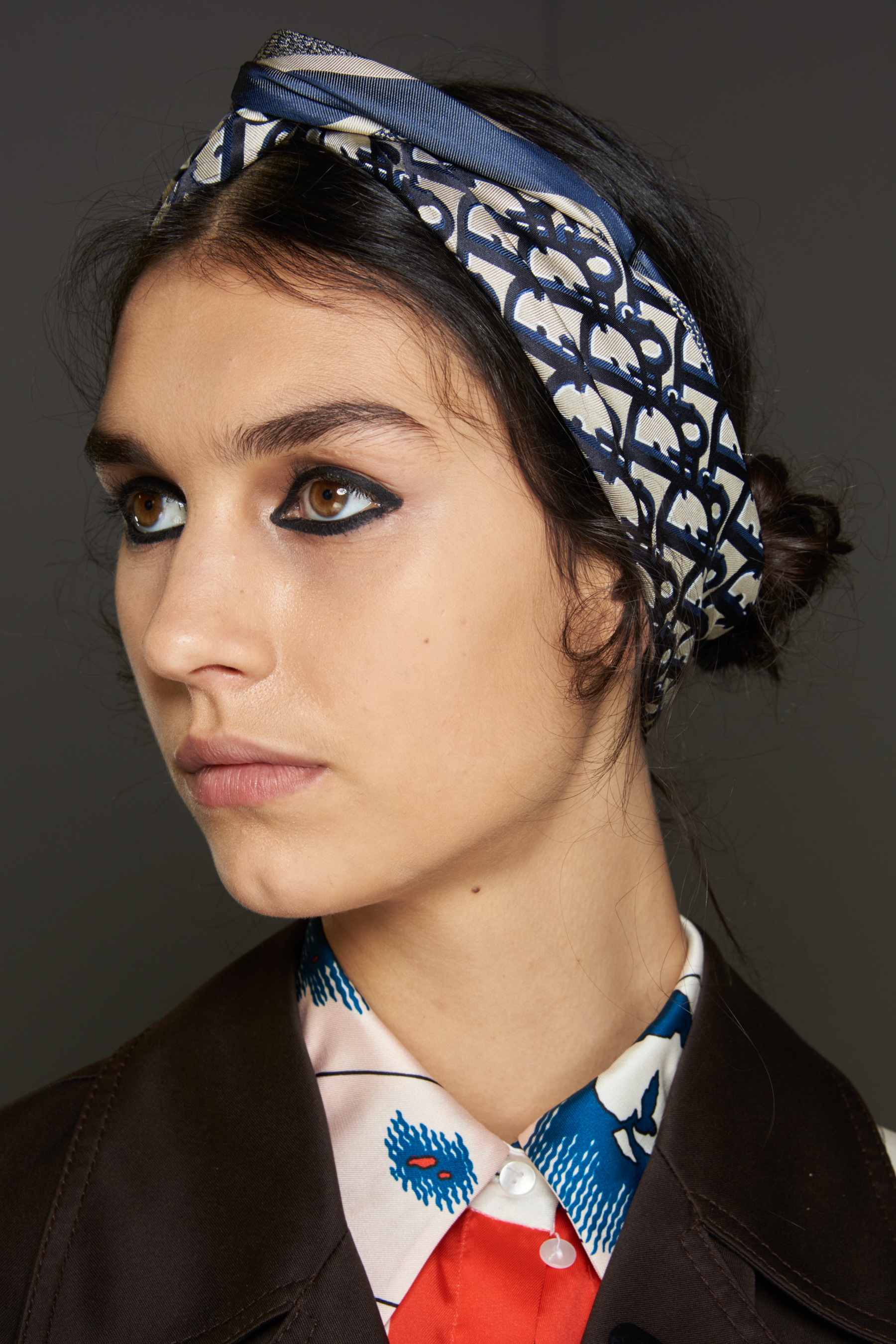 Dior Spring 2021 Fashion Show Backstage Beauty Photos