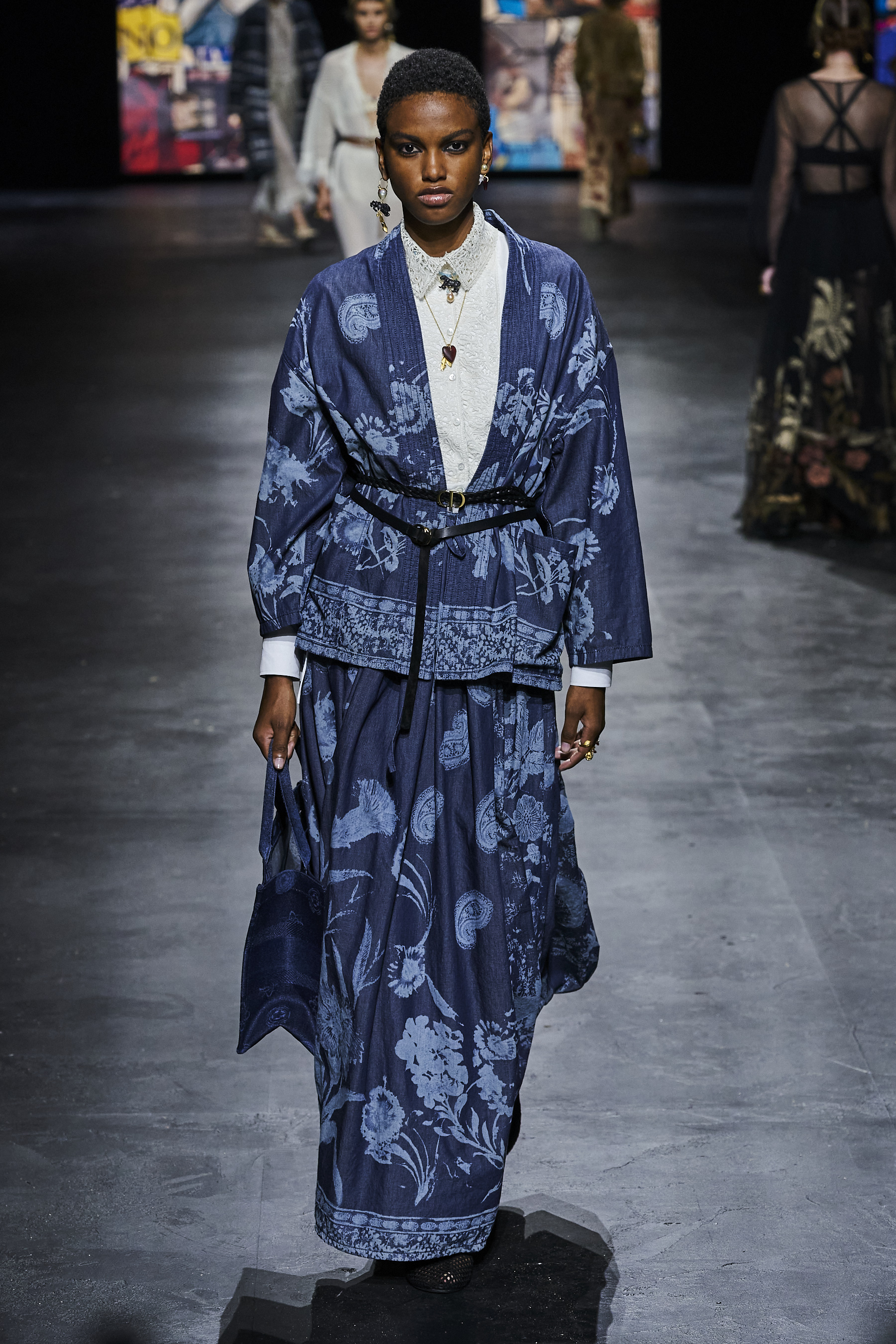 Kendam Dior Spring 2021 fashion Show