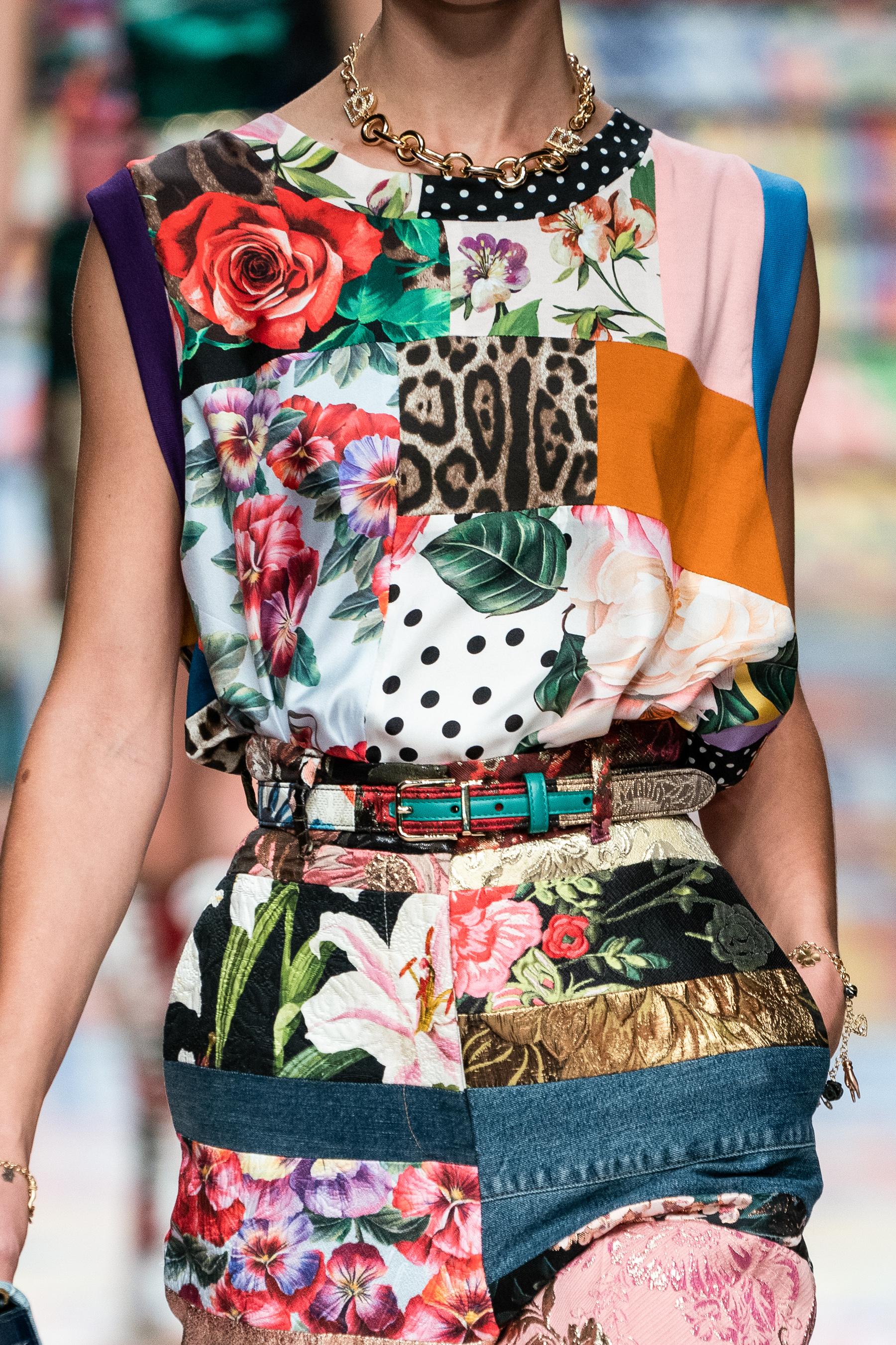 Dolce & Gabbana Spring 2021 Fashion Show Photos