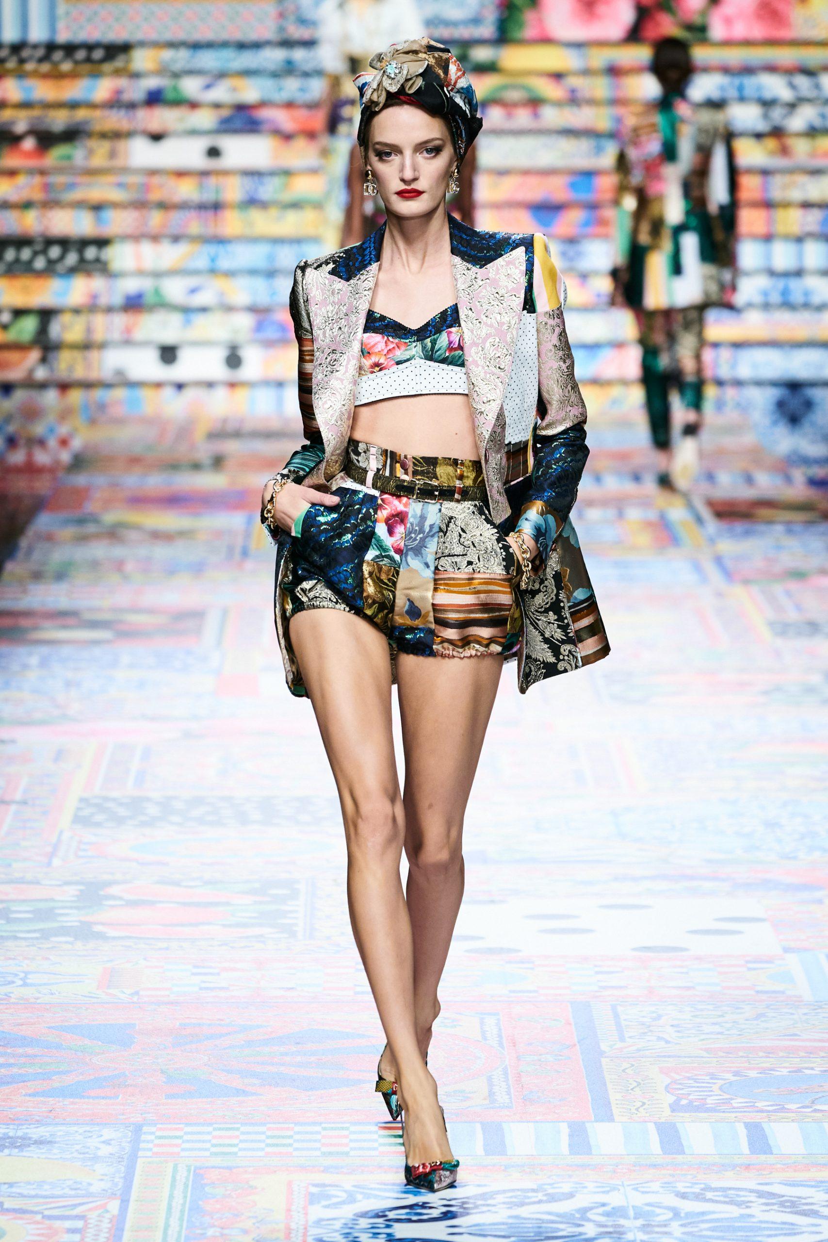 Dolce & Gabbana Spring 2021 Fashion Show