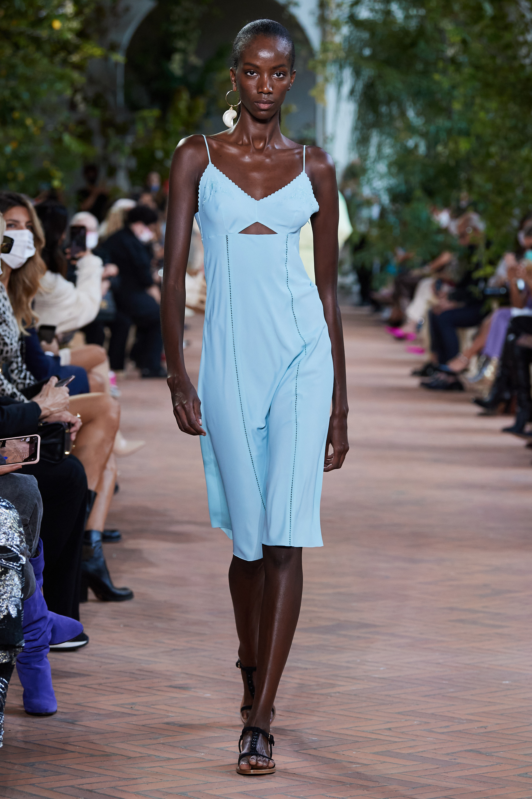 Alberta Ferretti Spring 2021 Fashion Show Photos