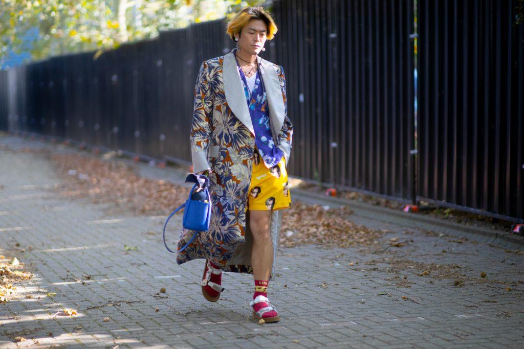 London Fashion Week Spring 2021 Street Style Photos