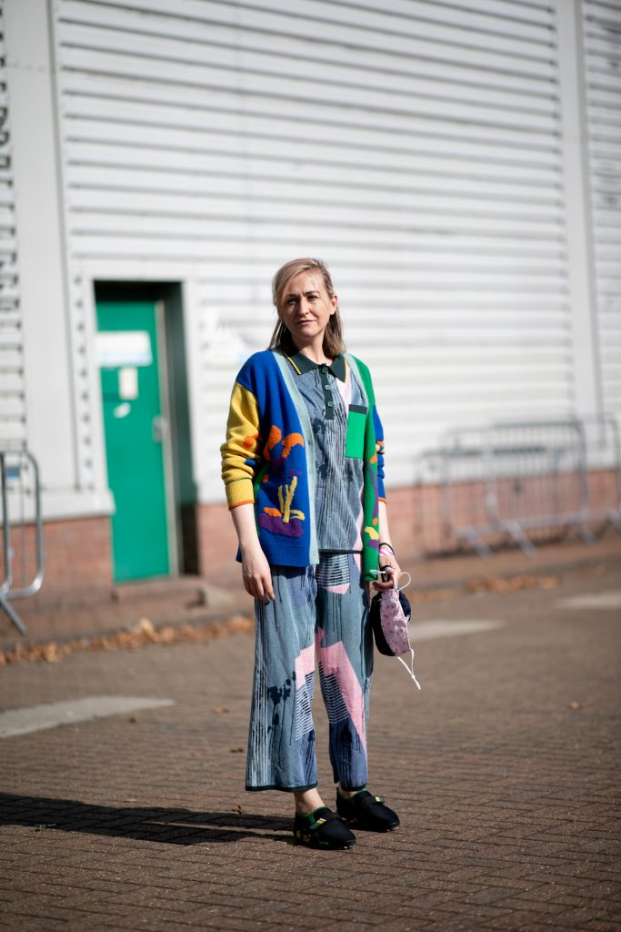 London Fashion Week Spring 2021 Street Style Photos
