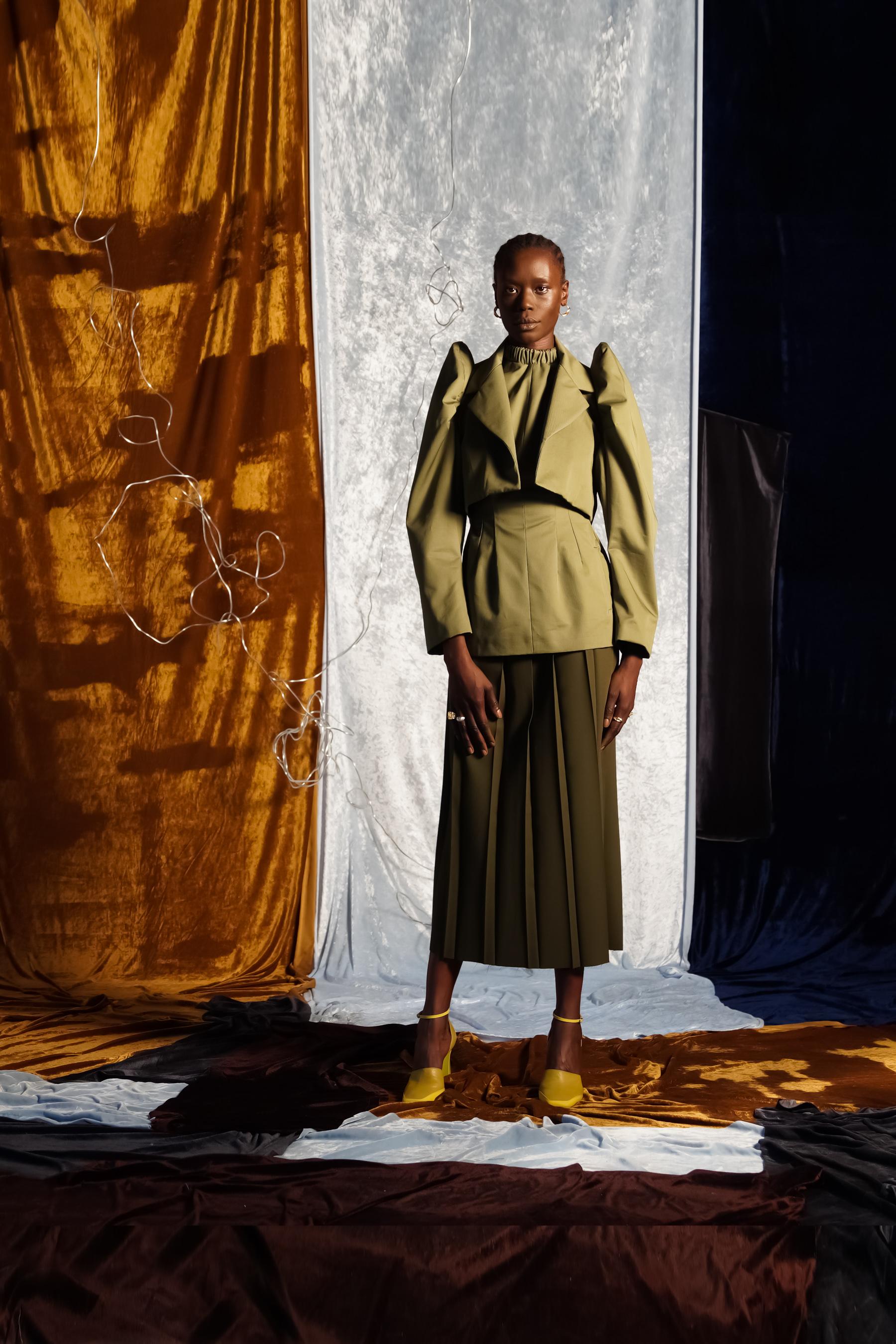 Richard Malone Spring 2021 Fashion Show Photos