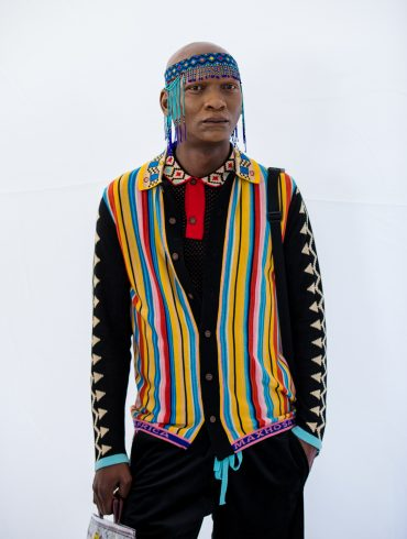 Maxhosa Africa Spring 2021 Fashion Show Backstage