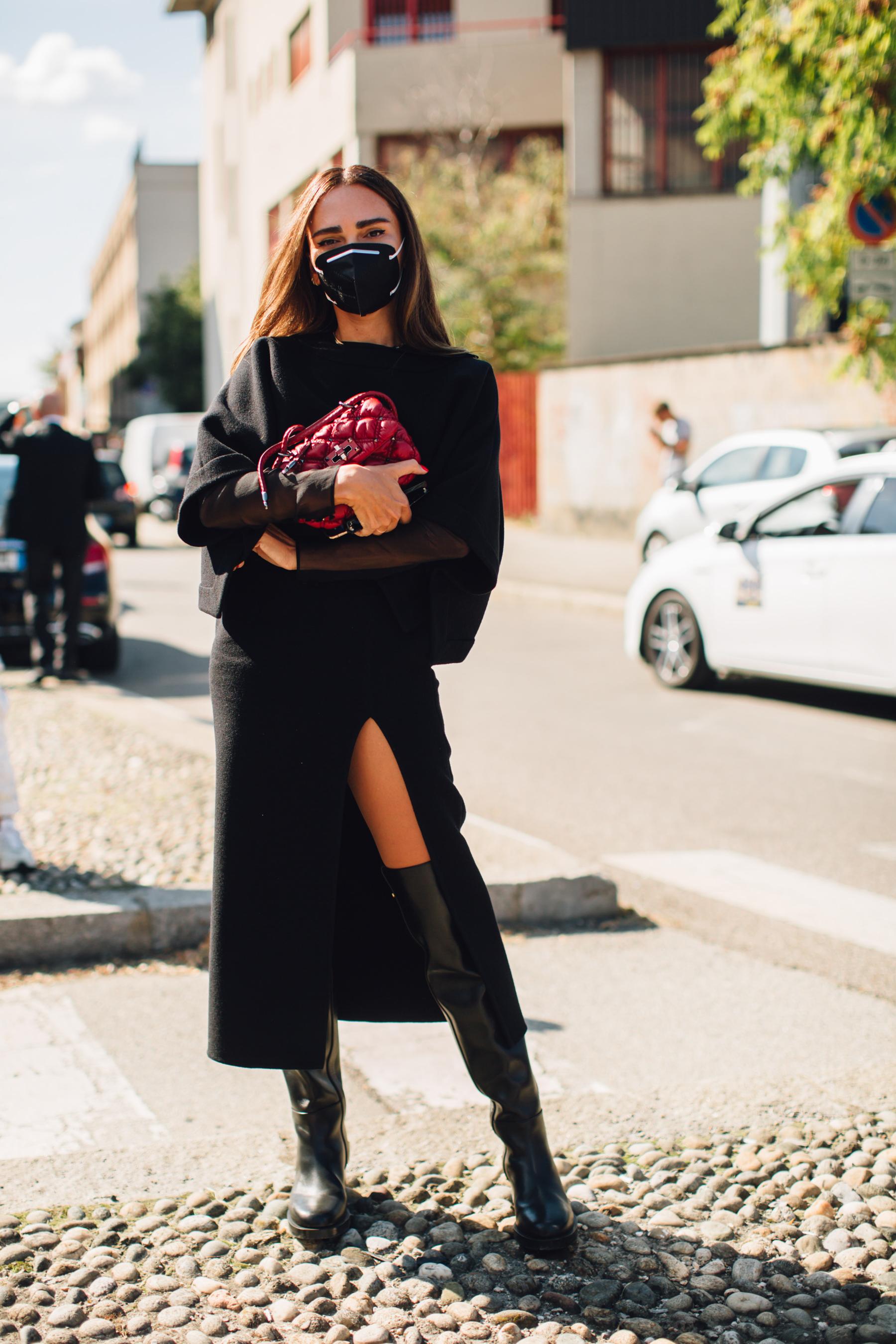 Milan Street Style Spring 2021 Day 5