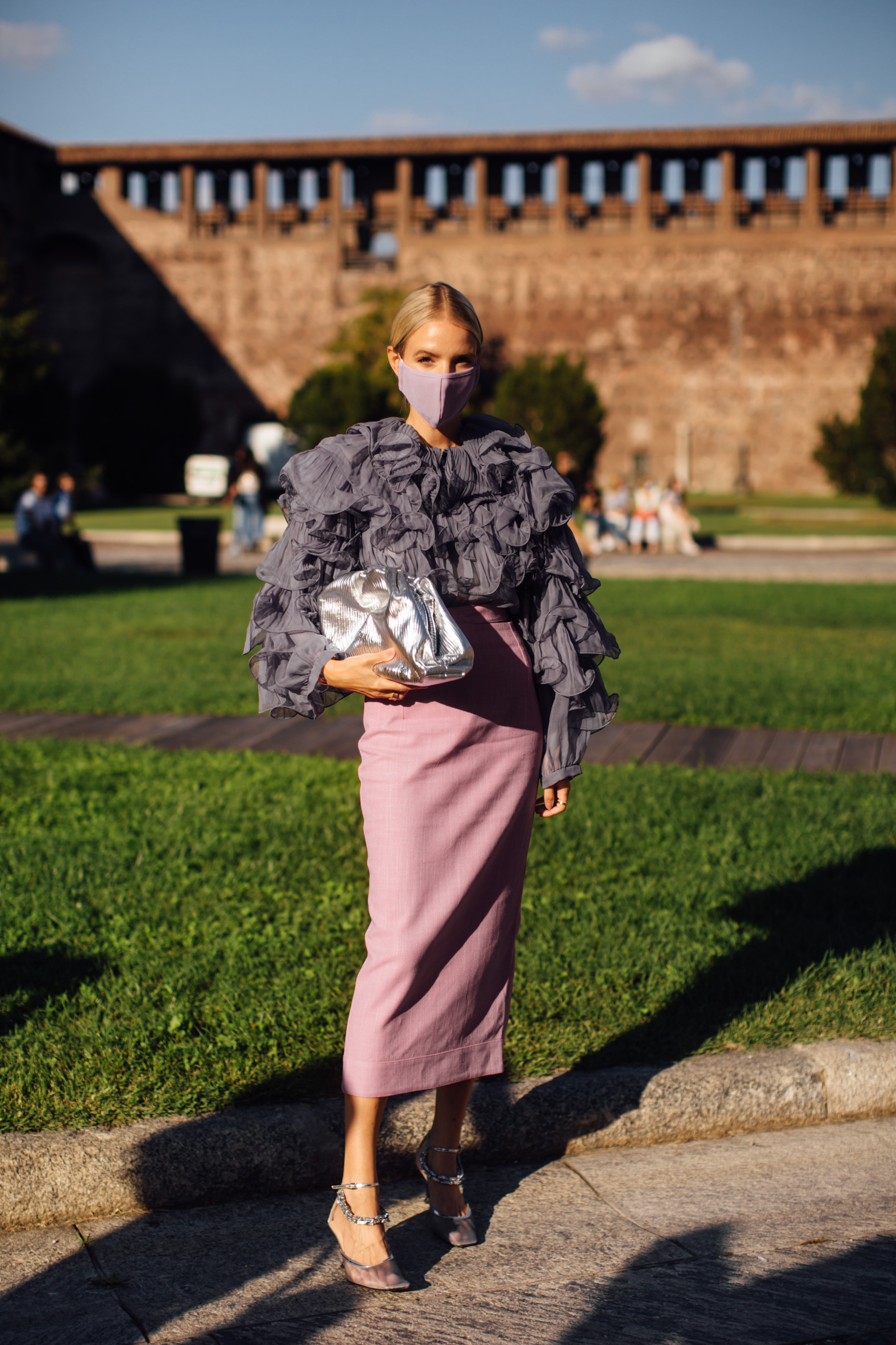 Milan Street Style Spring 2021 Day 1