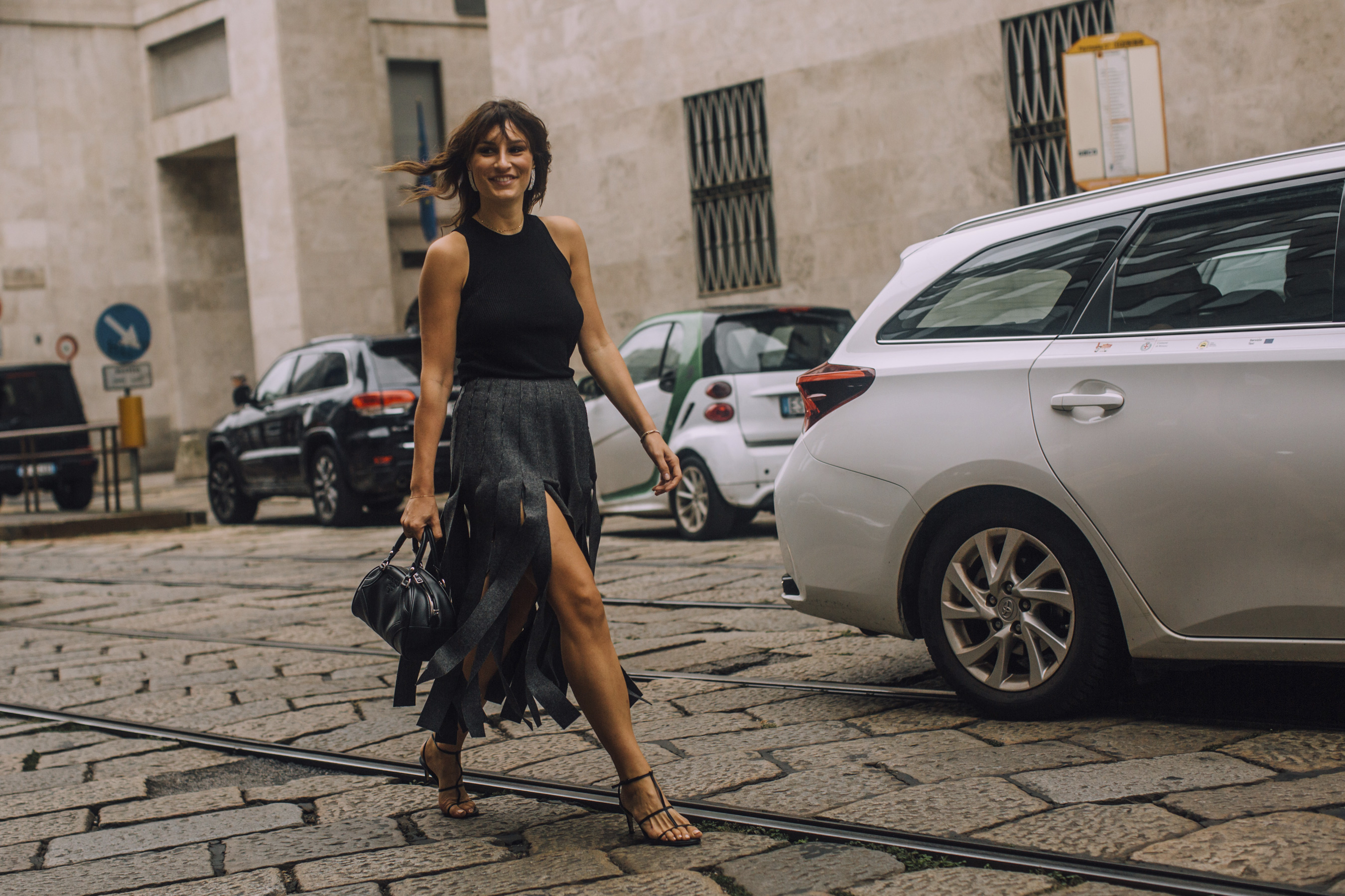 Milan Fashion Week Spring 2021 Street Style Photos