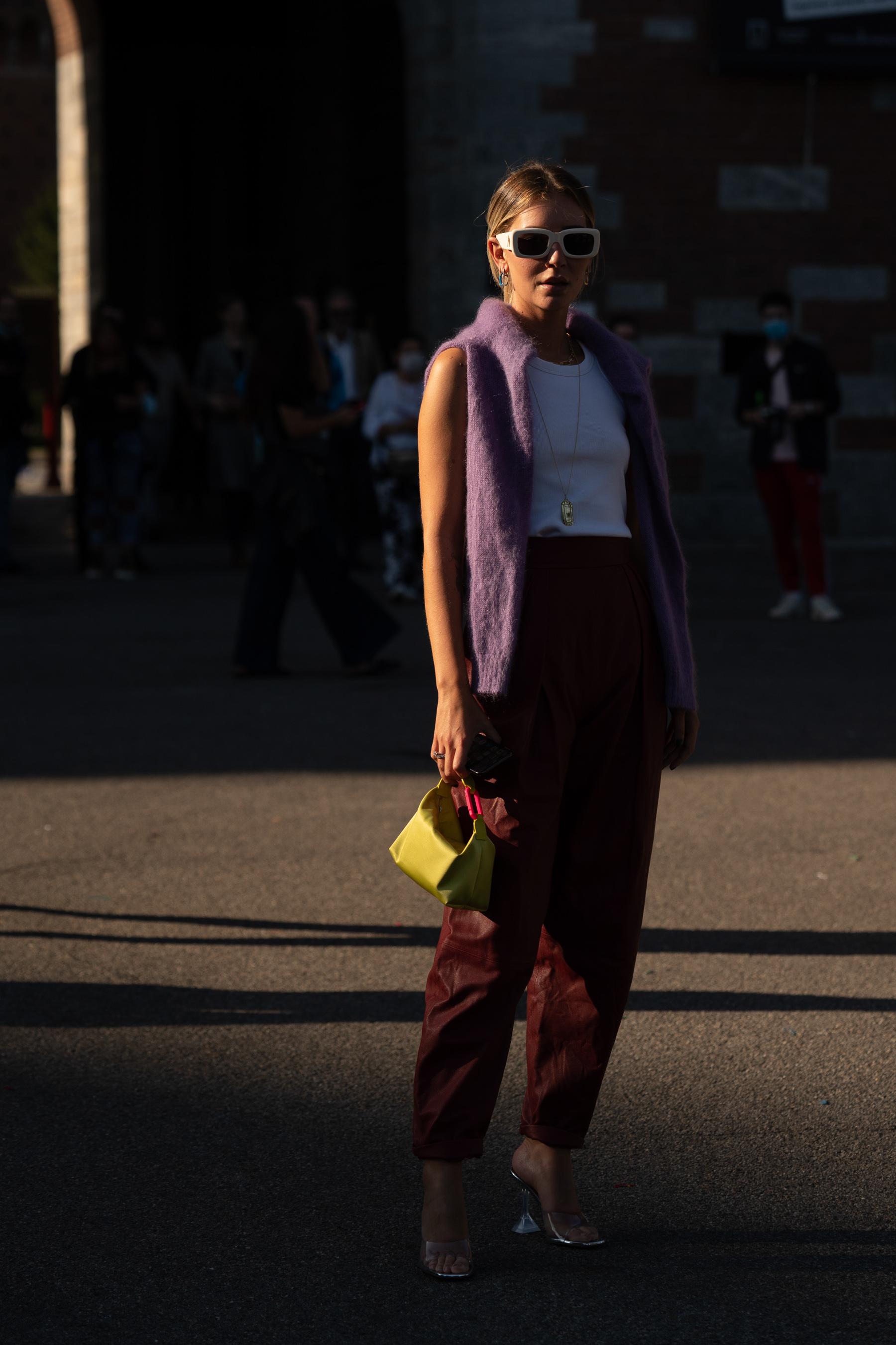 Milan Fashion Week Spring 2021 Street Style Photos