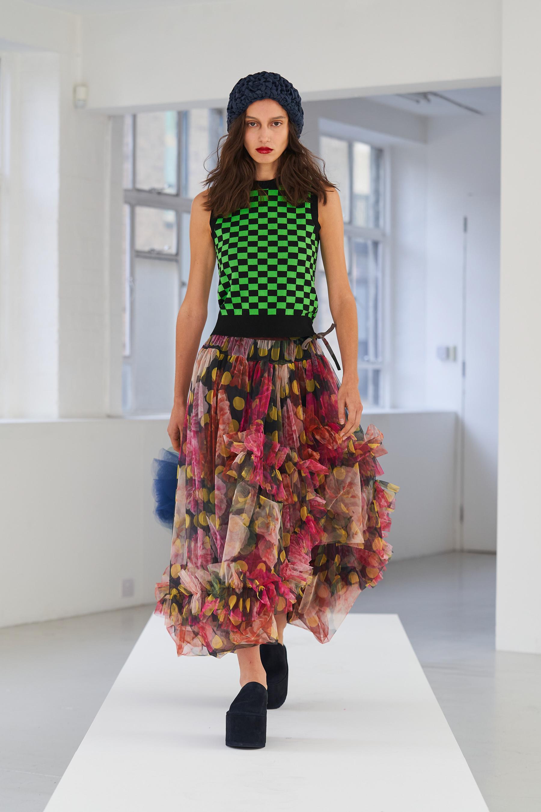 Molly Goddard Spring 2021 Fashion Show