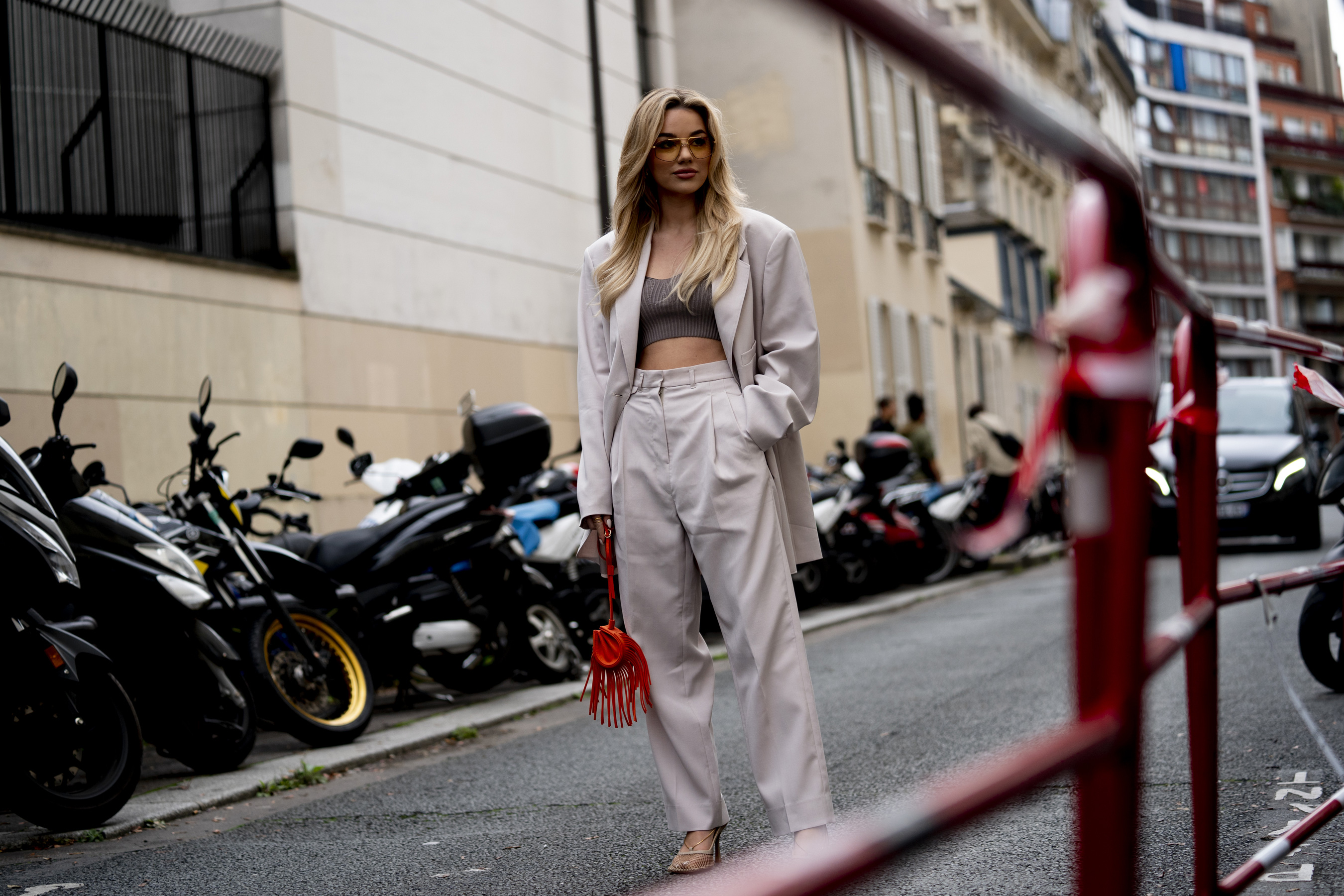 Paris Fashion Week Spring 2021 Street Style Photos