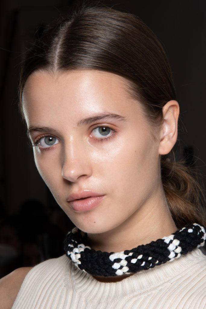 Simona Marziali Spring 2021 Fashion Show Backstage Beauty Photos
