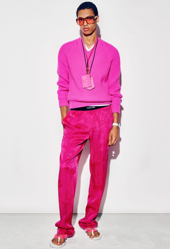 Tom Ford Spring 2021 Men's Fashion Show Photos