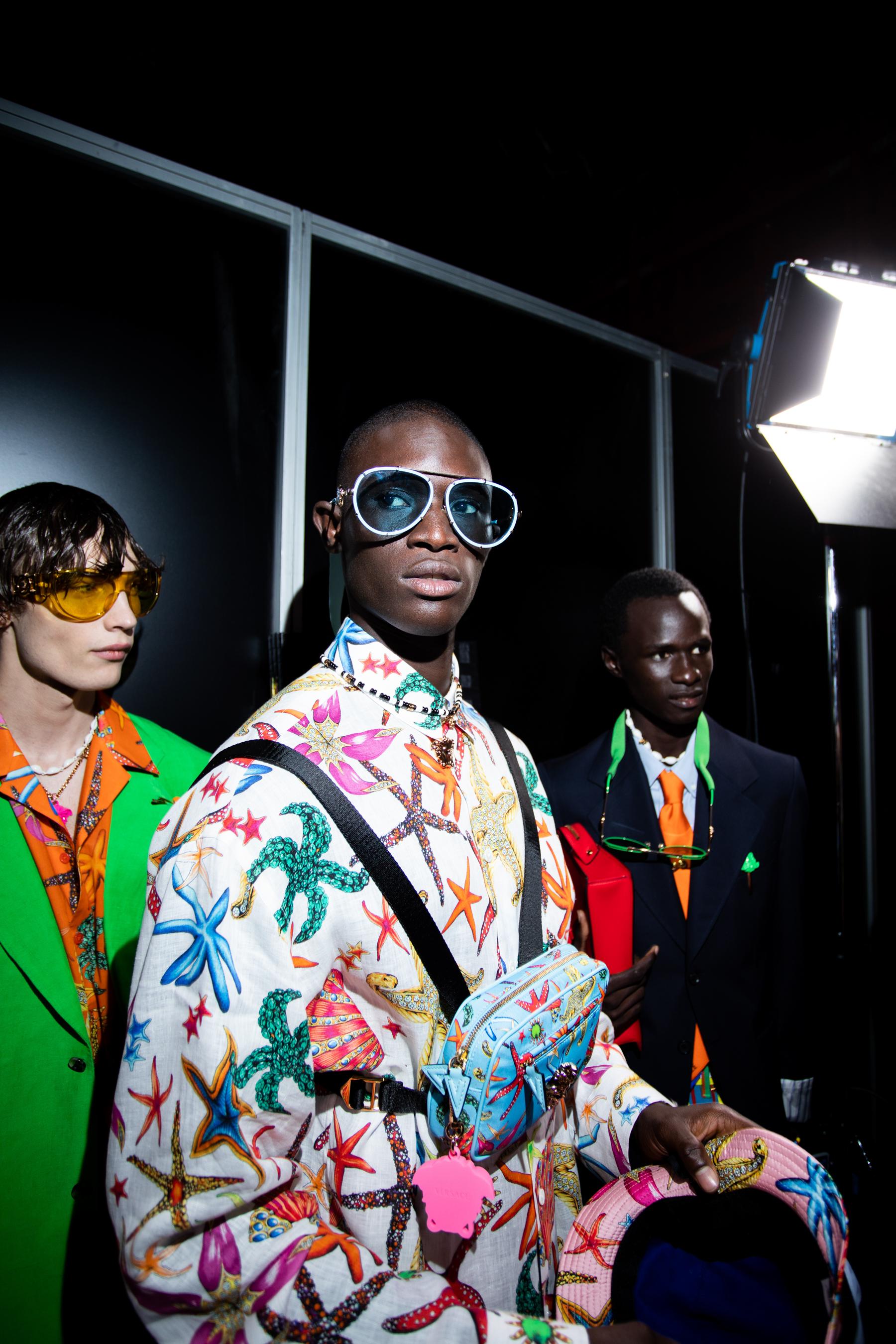 Versace Spring 2021 Fashion Show Photos