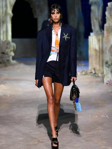 Versace Spring 2021 Fashion Show Film