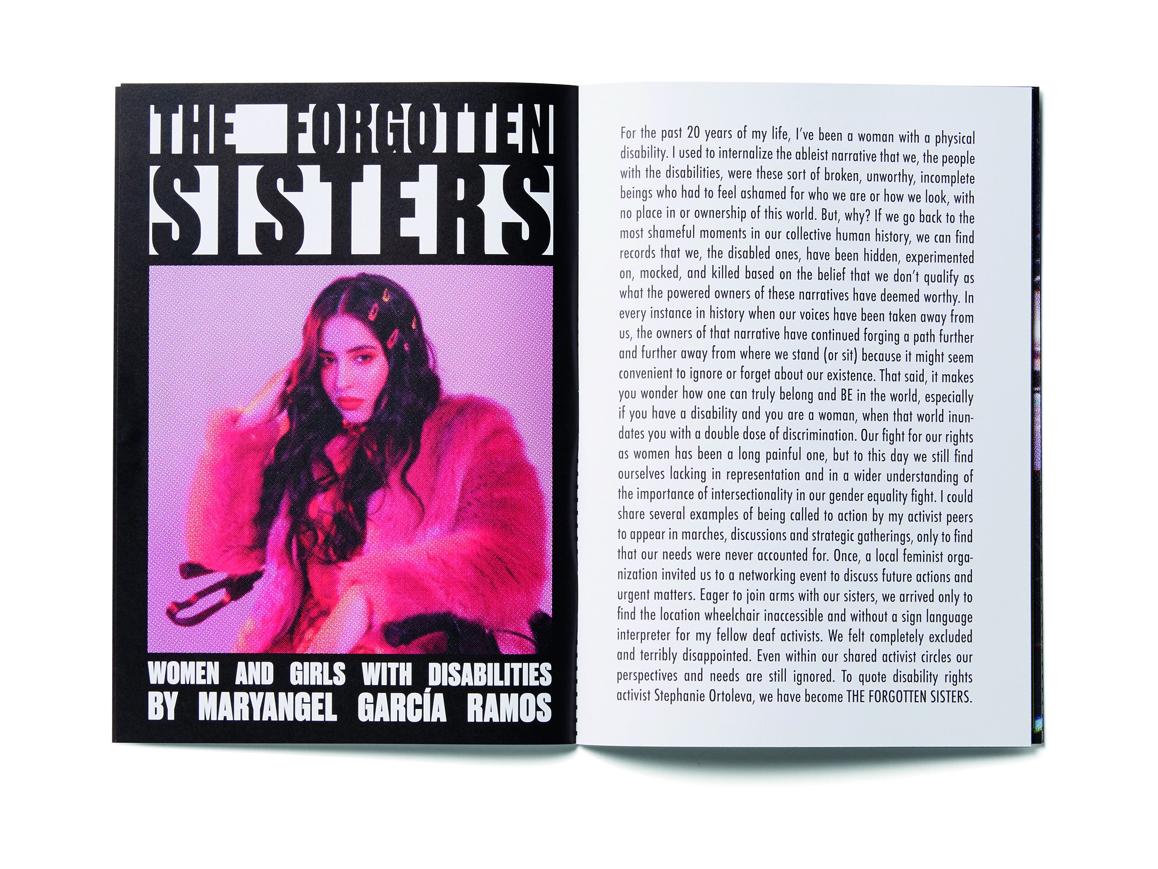 Gucci Launches Chime Zine Number 2 StandWithWomen
