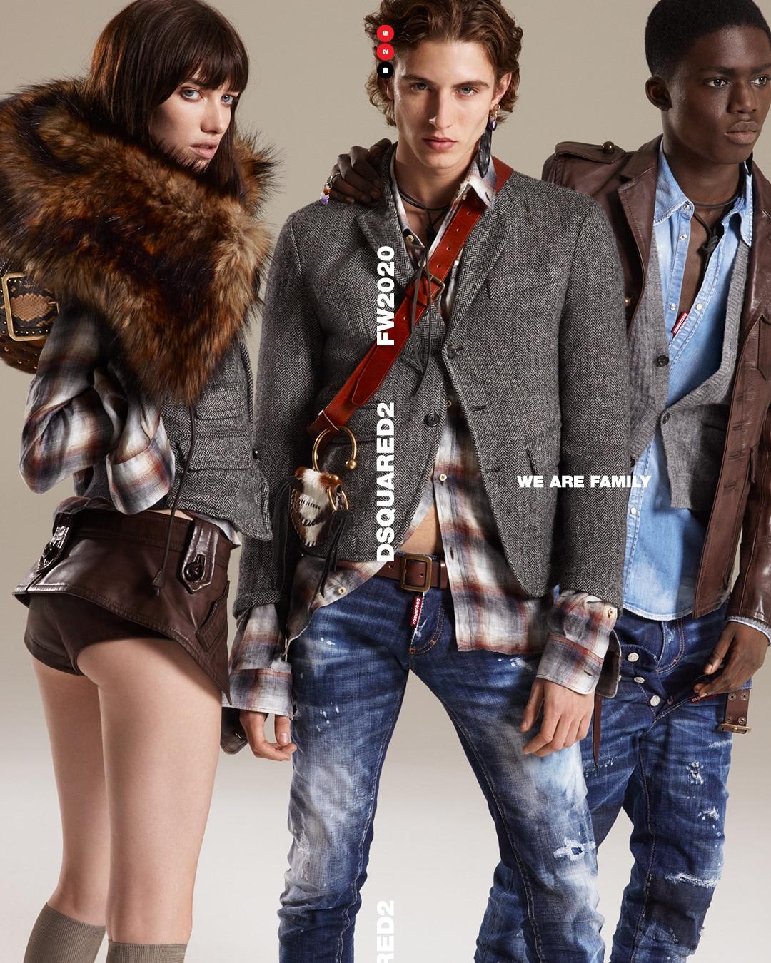 Dsquared2 Fall 2020 Ad Campaign Film & Photos