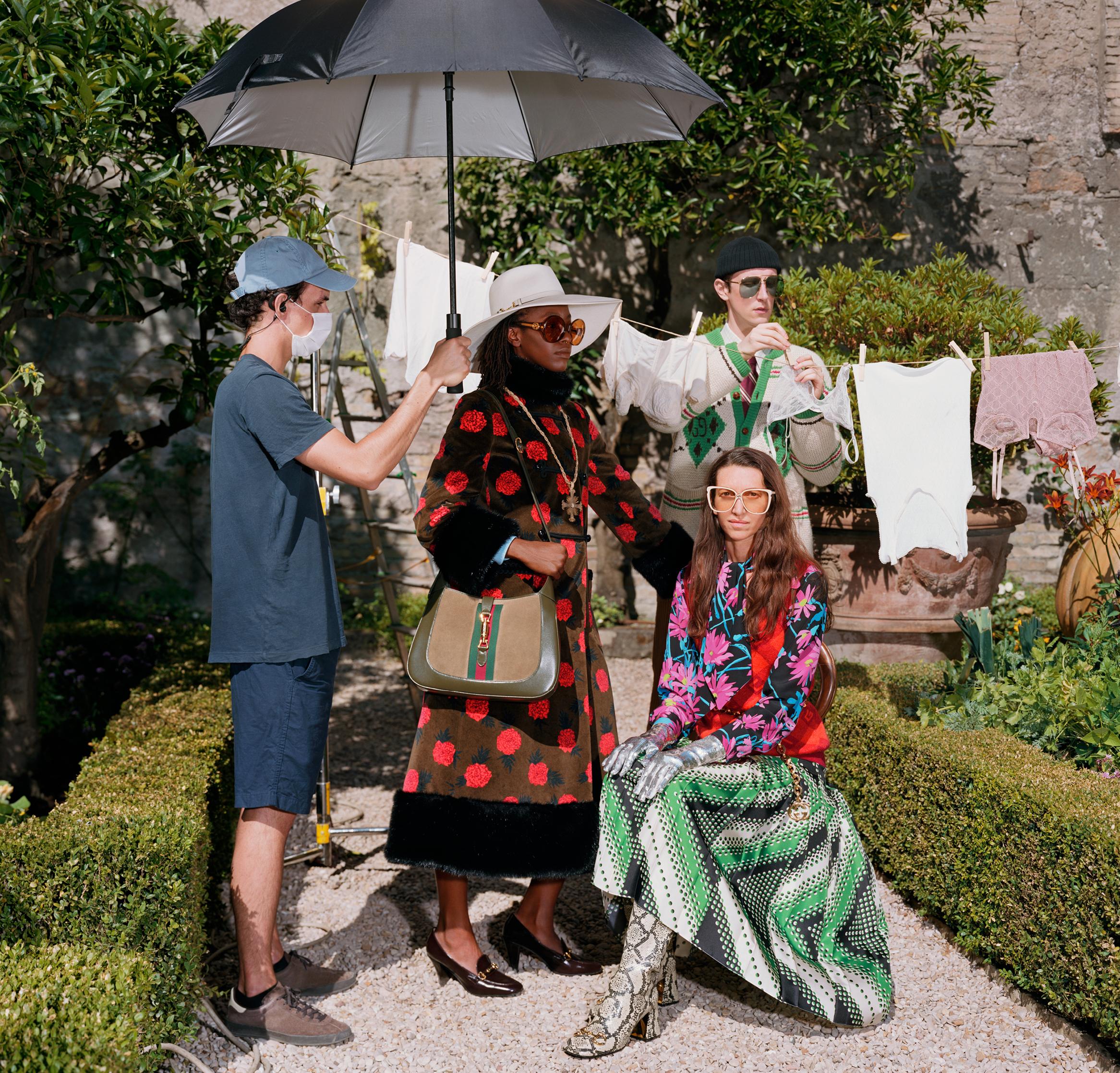 Gucci 'The Epilogue' Cruise 2021 Ad Campaign Film & Photos