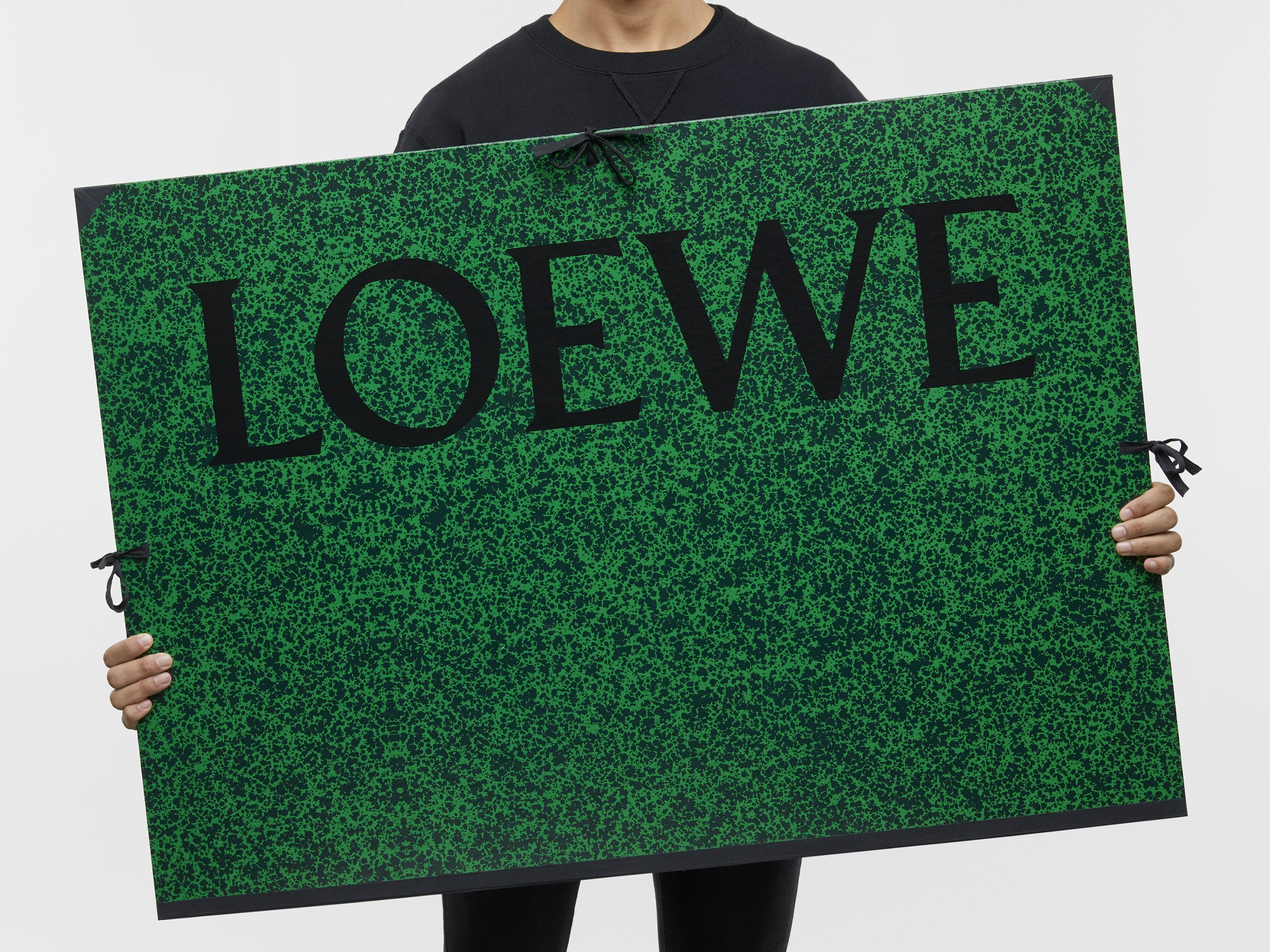 Loewe Spring 2021 Fashion Show 'Show on the Wall' Box Kit