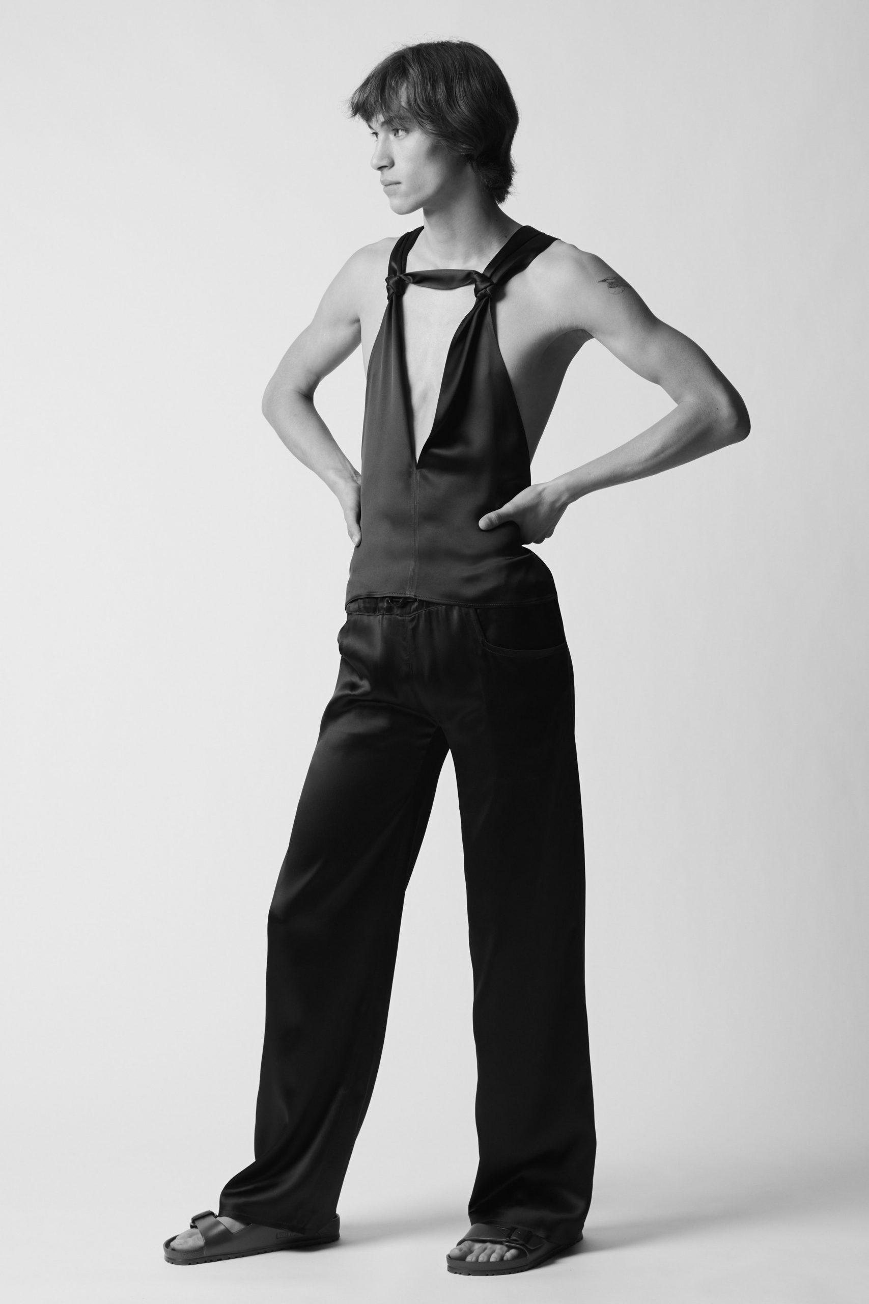 Ludovic de Saint Sernin Spring 2021 Men's Fashion Collection Photos